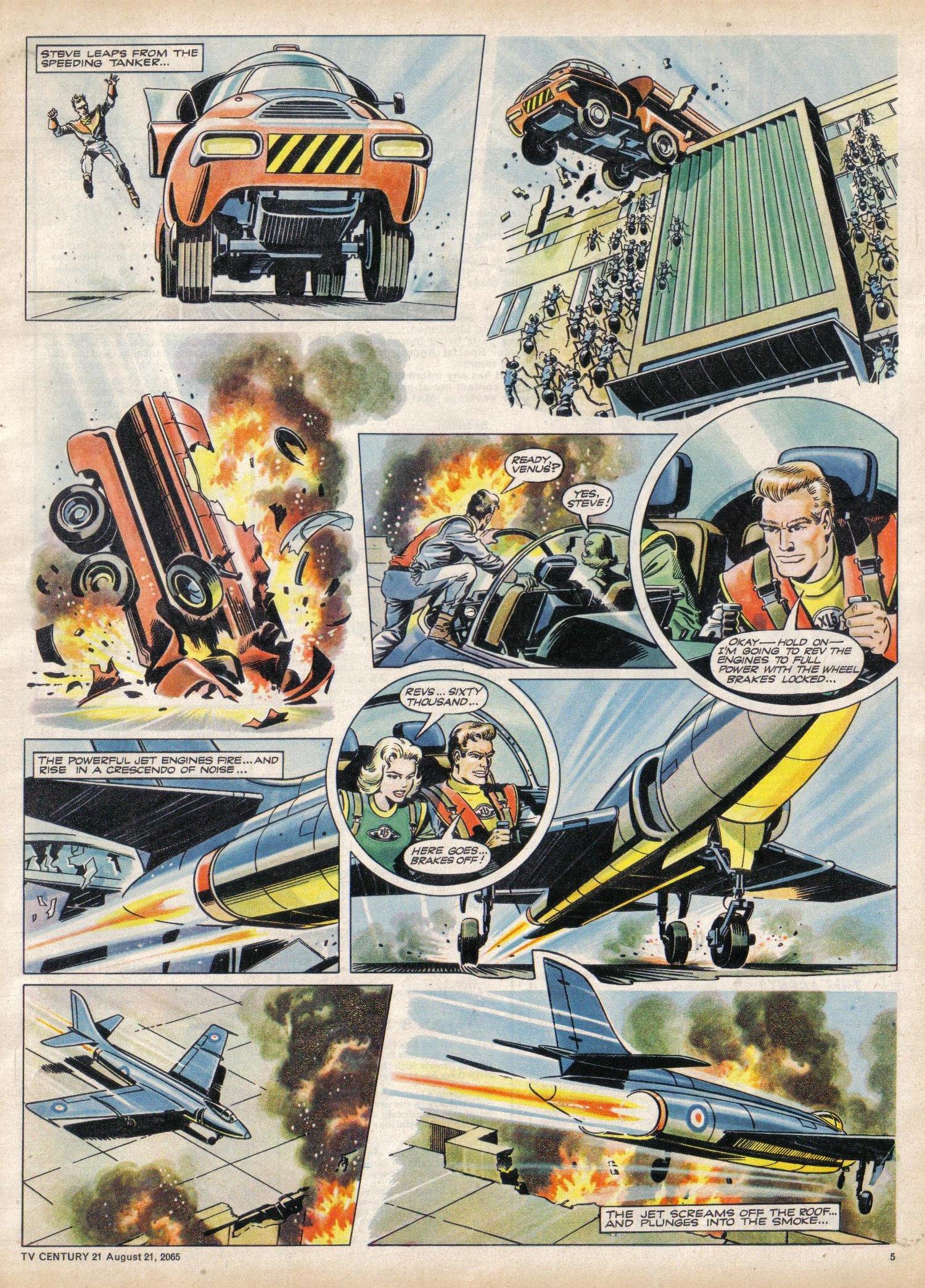 Read online TV Century 21 (TV 21) comic -  Issue #31 - 5