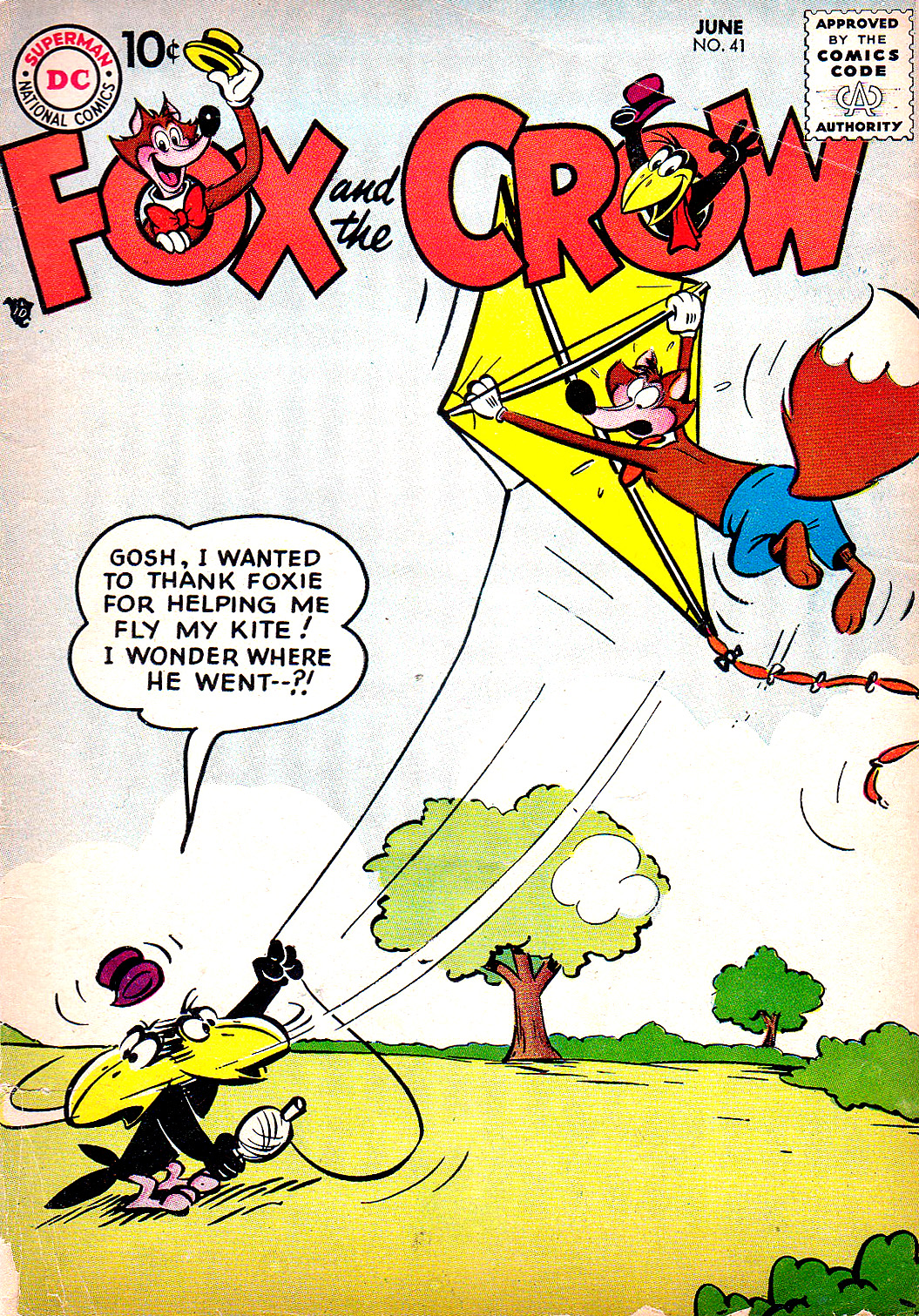The Fox and the Crow issue 41 - Page 1