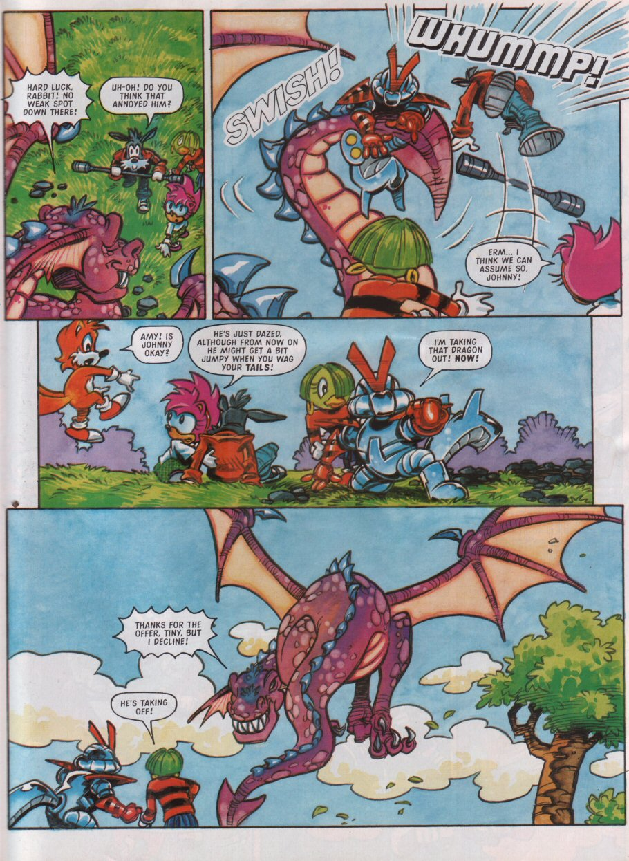Read online Sonic the Comic comic -  Issue #95 - 24