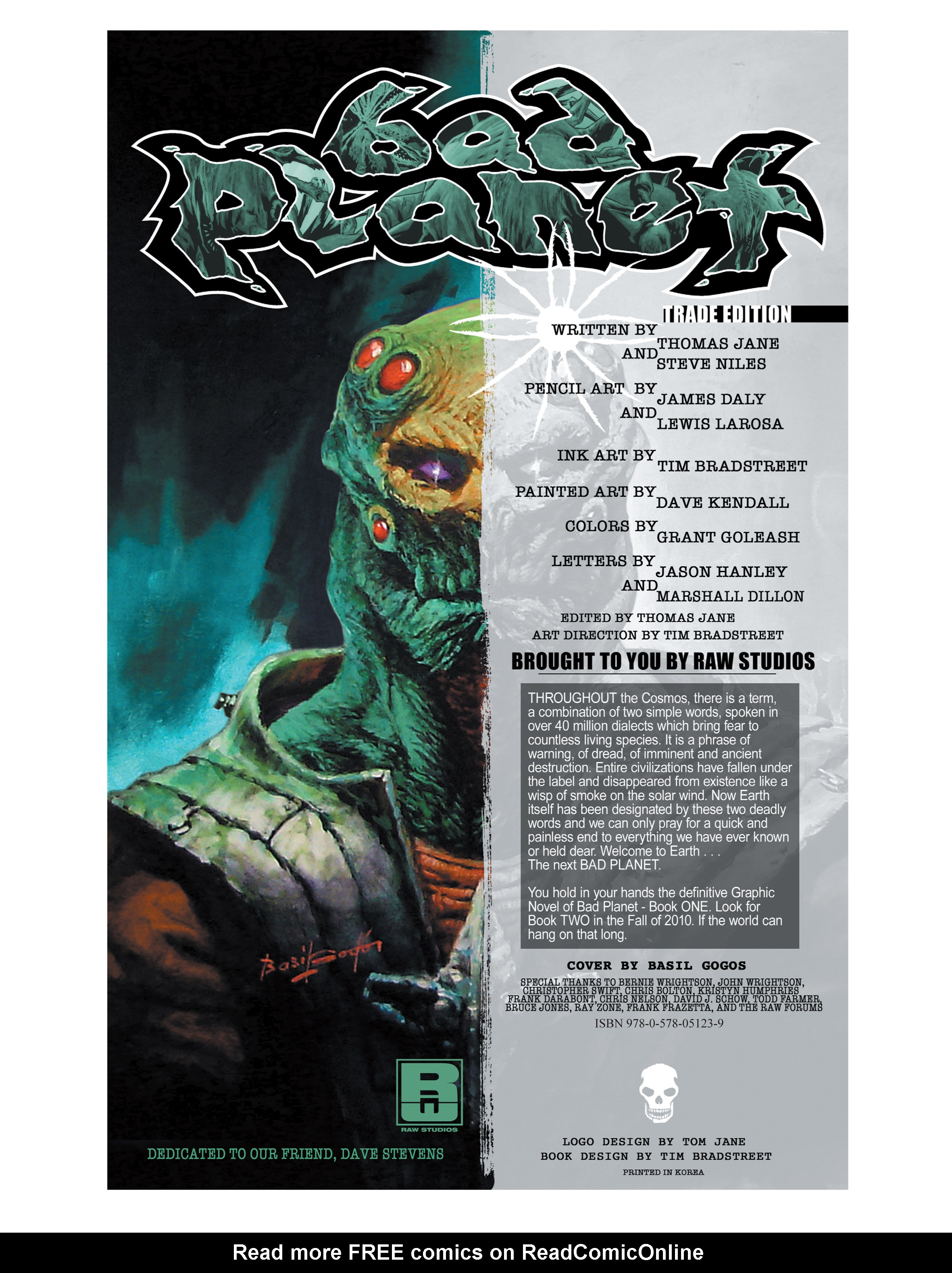 Read online Bad Planet comic -  Issue # TPB - 3