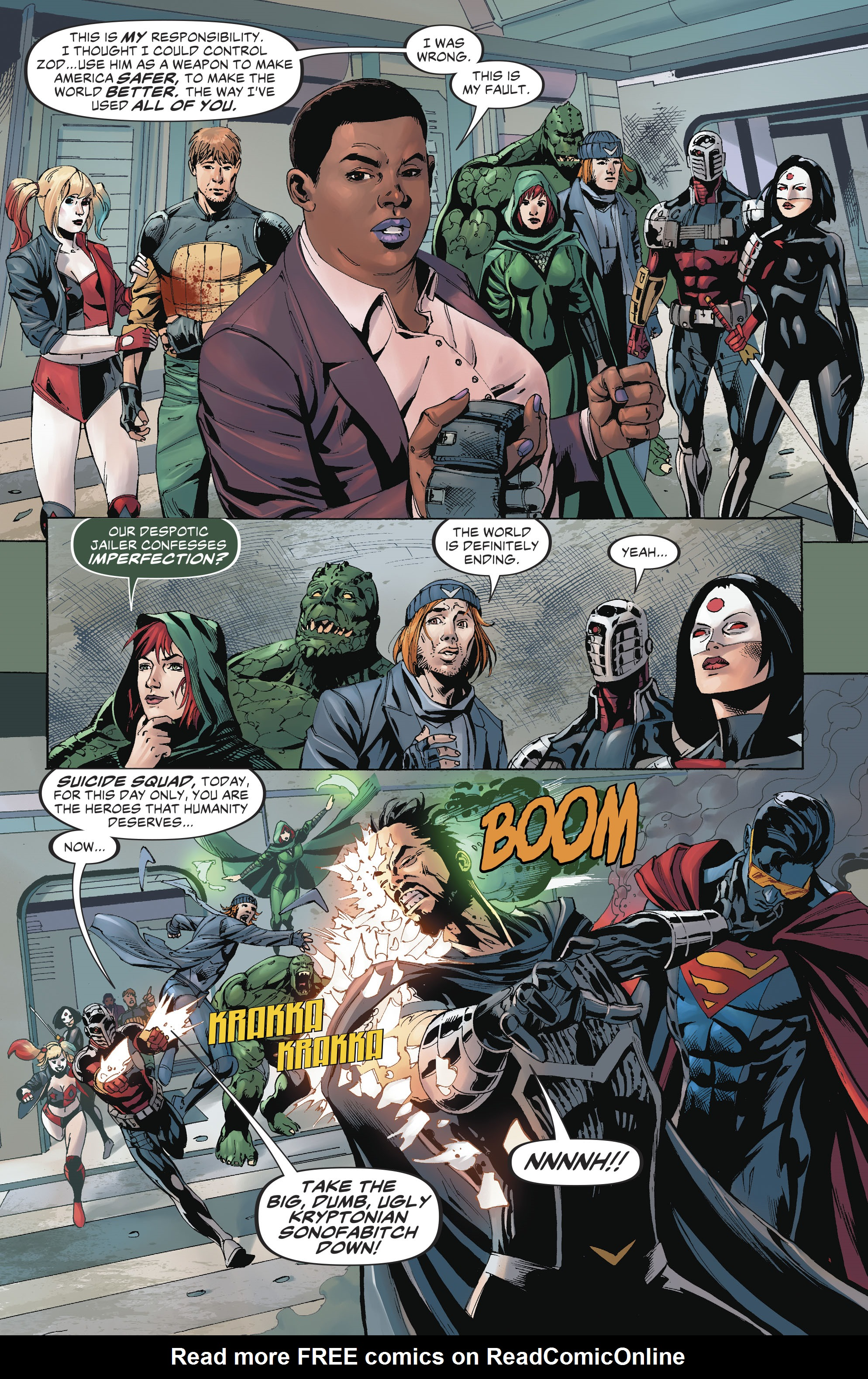 Read online Suicide Squad (2016) comic -  Issue #19 - 15