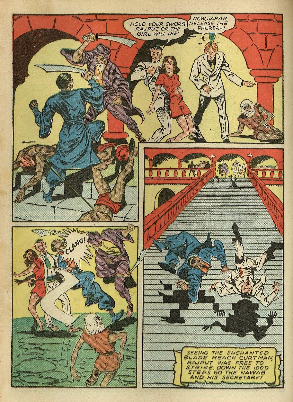 Read online Super-Magician Comics comic -  Issue #1 - 38
