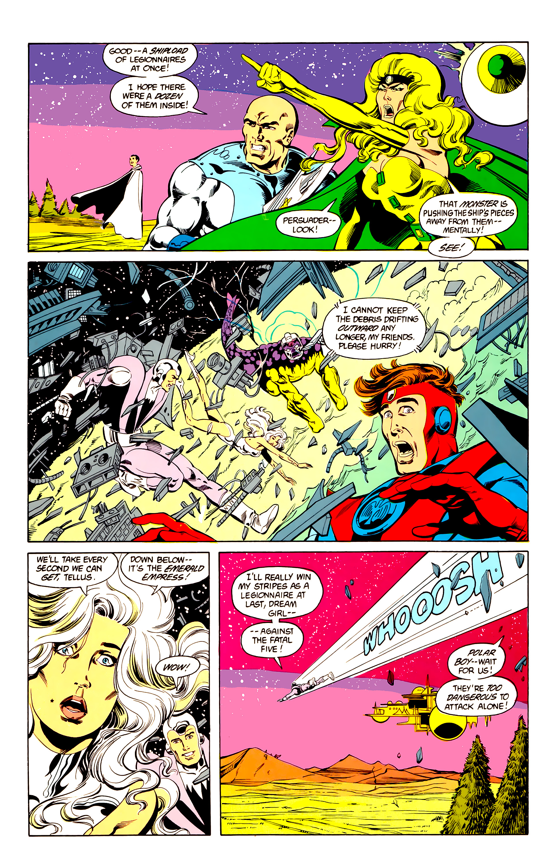 Legion of Super-Heroes (1984) 25 Page 20