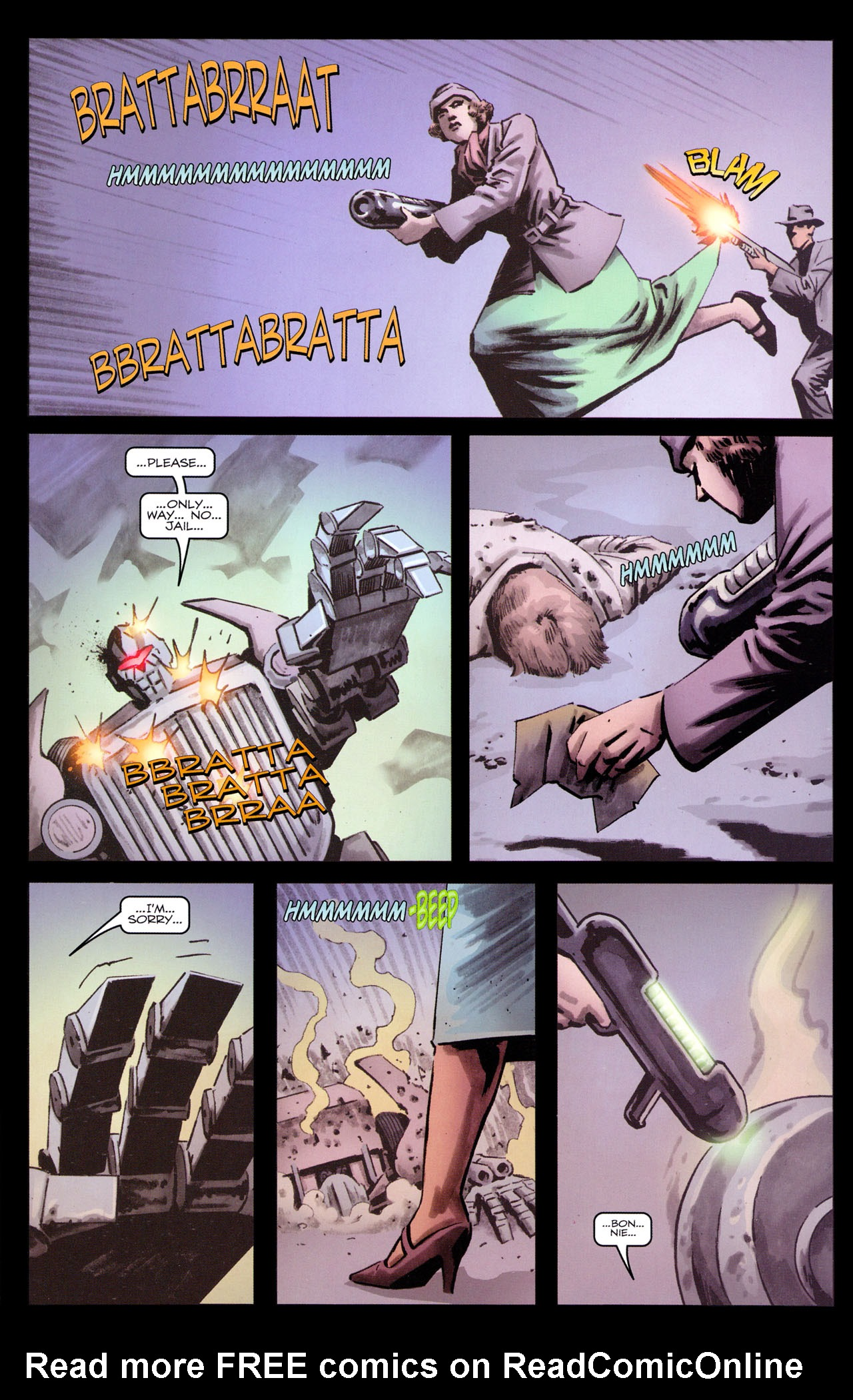Read online Transformers: Sector 7 comic -  Issue #3 - 23