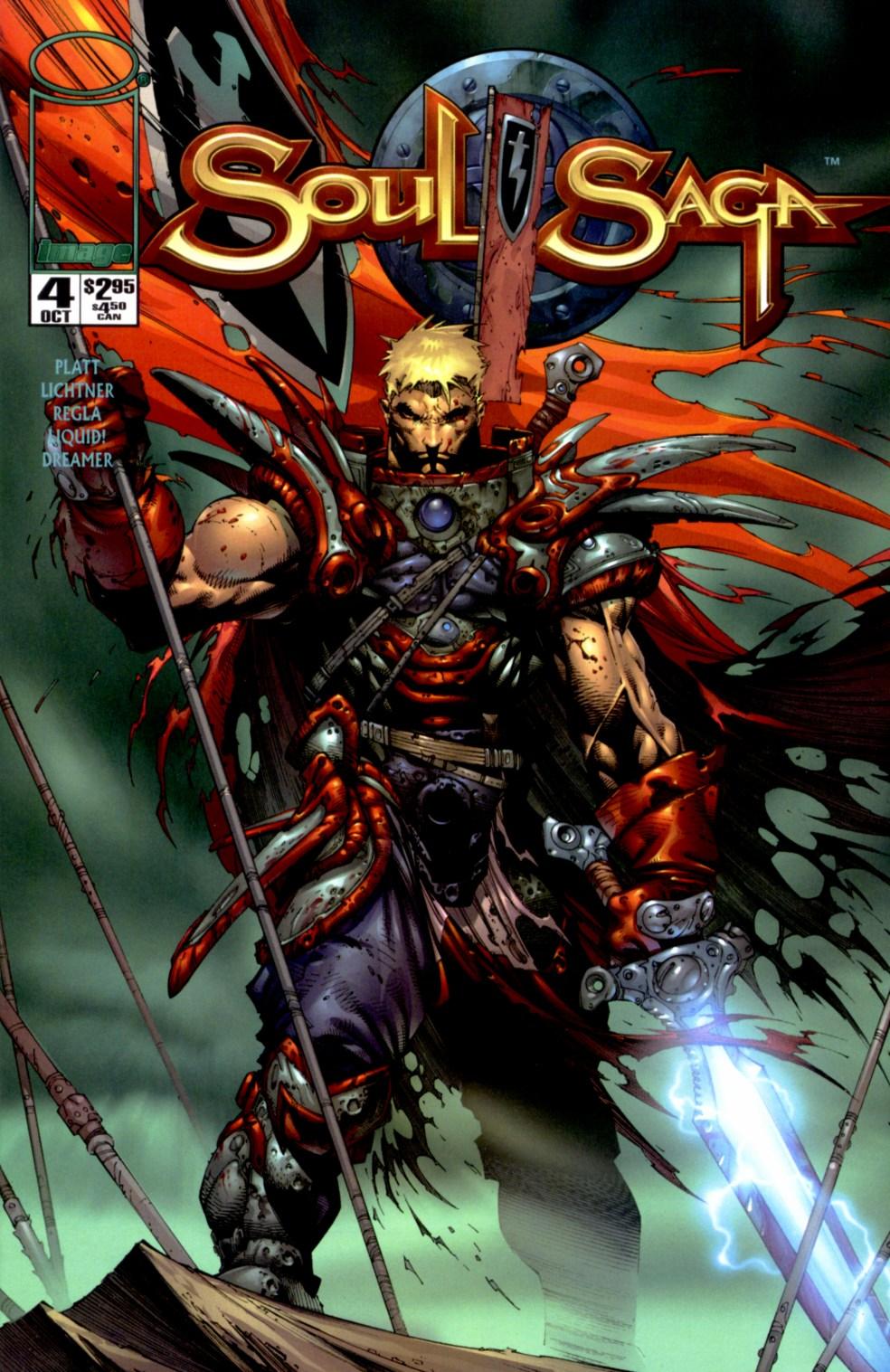 Read online Soul Saga comic -  Issue #4 - 1