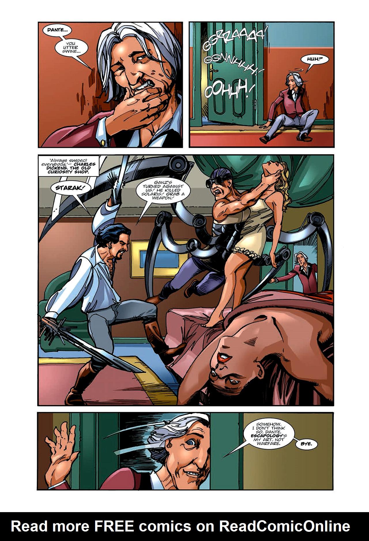 Read online Nikolai Dante comic -  Issue # TPB 6 - 61