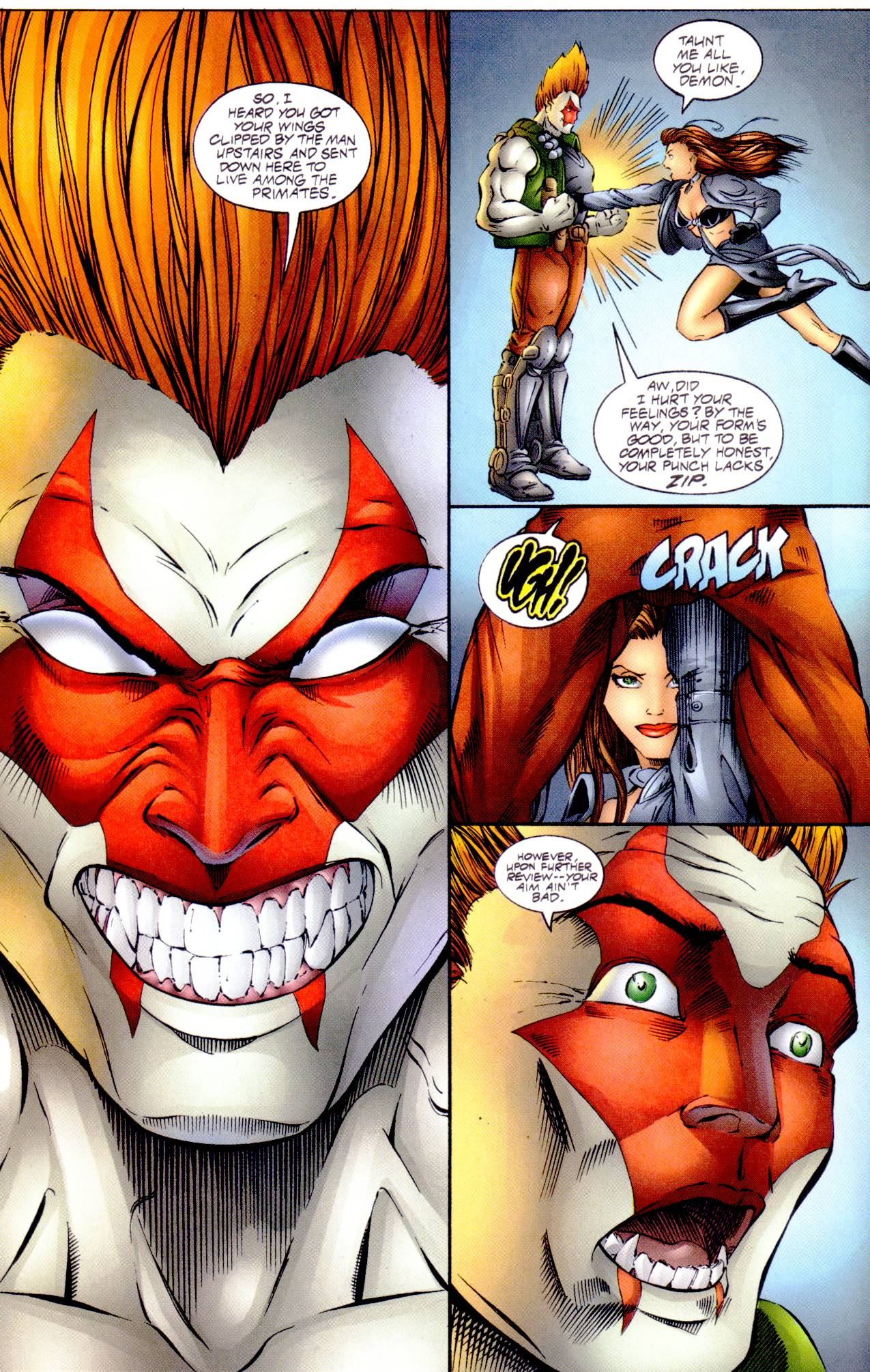 Read online Avengelyne (1996) comic -  Issue #14 - 10