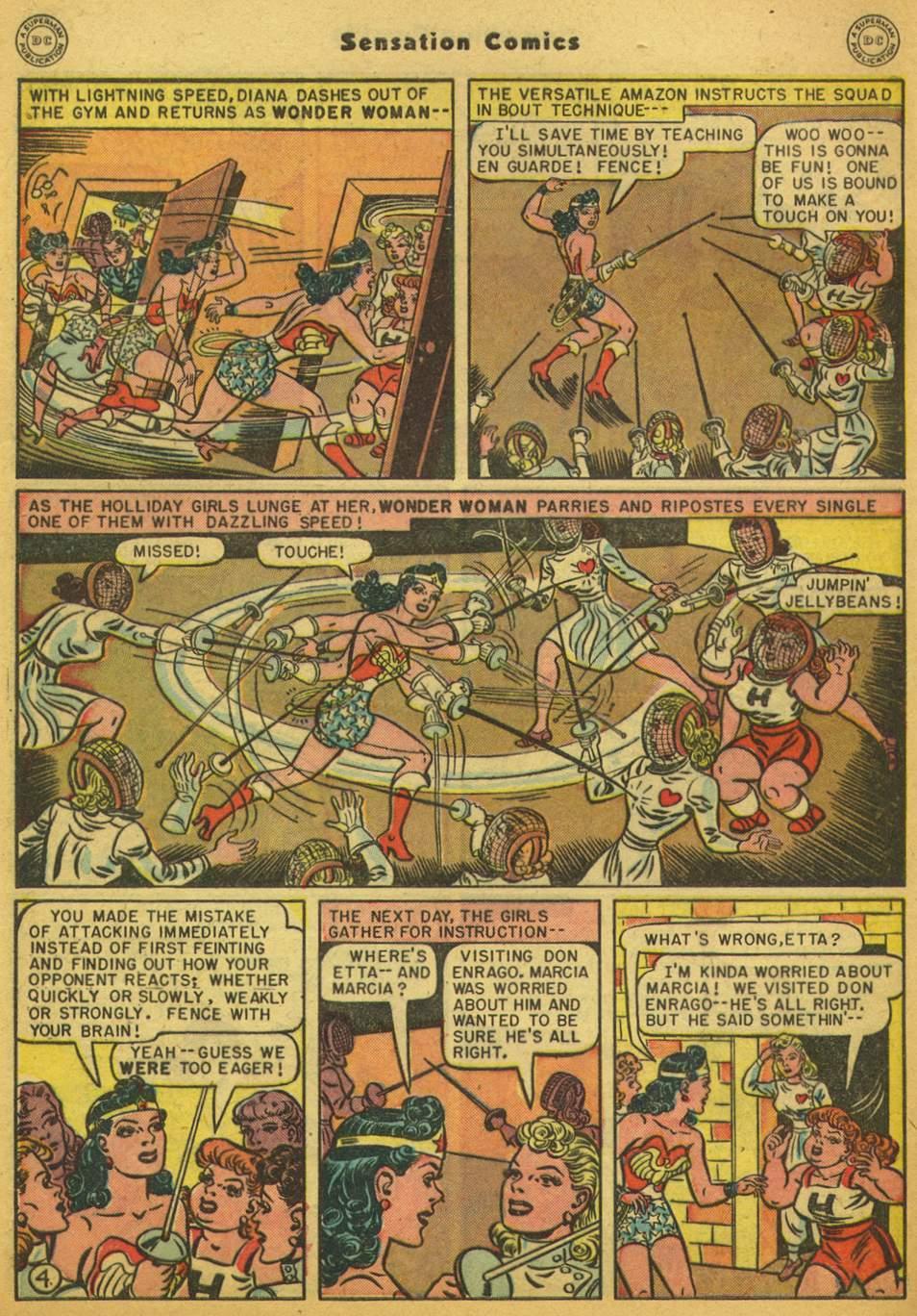 Read online Sensation (Mystery) Comics comic -  Issue #80 - 5