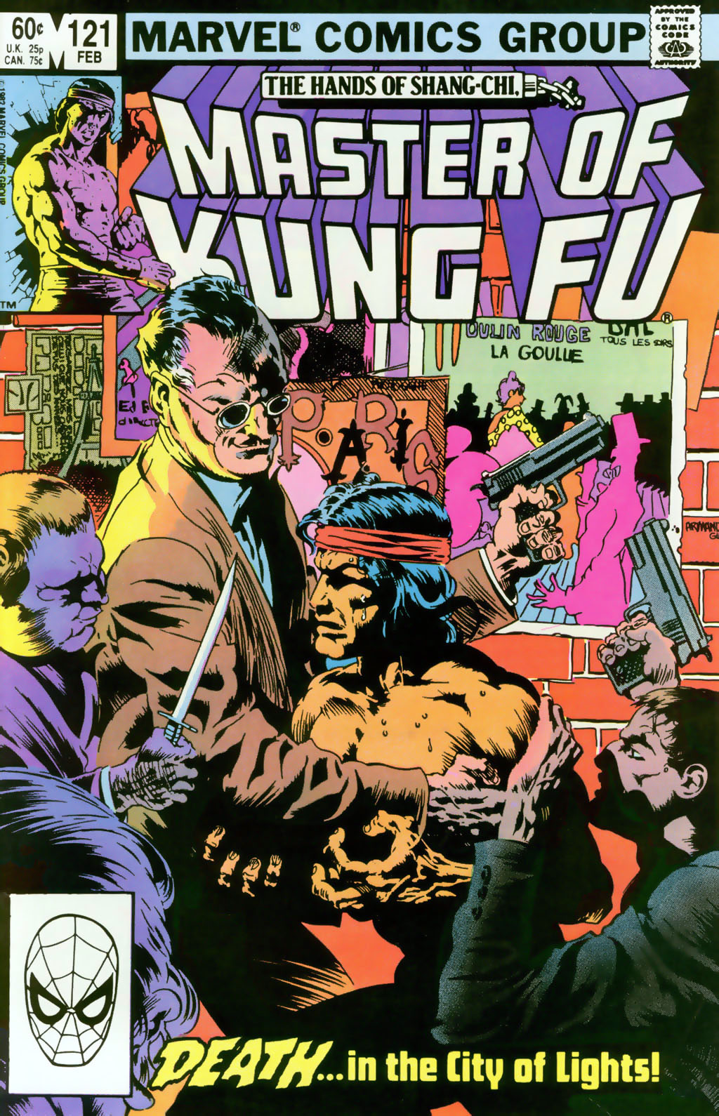 Read online Master of Kung Fu (1974) comic -  Issue #121 - 1