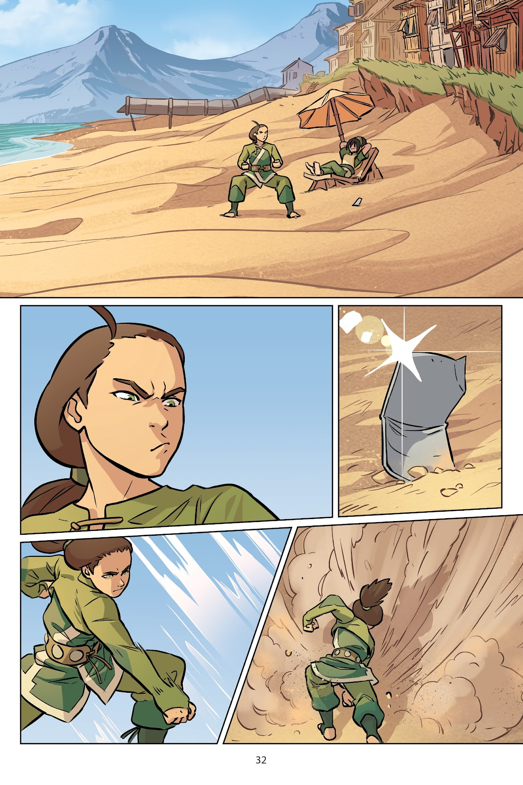 Read online Nickelodeon Avatar: The Last Airbender - Imbalance comic -  Issue # TPB 2 - 33