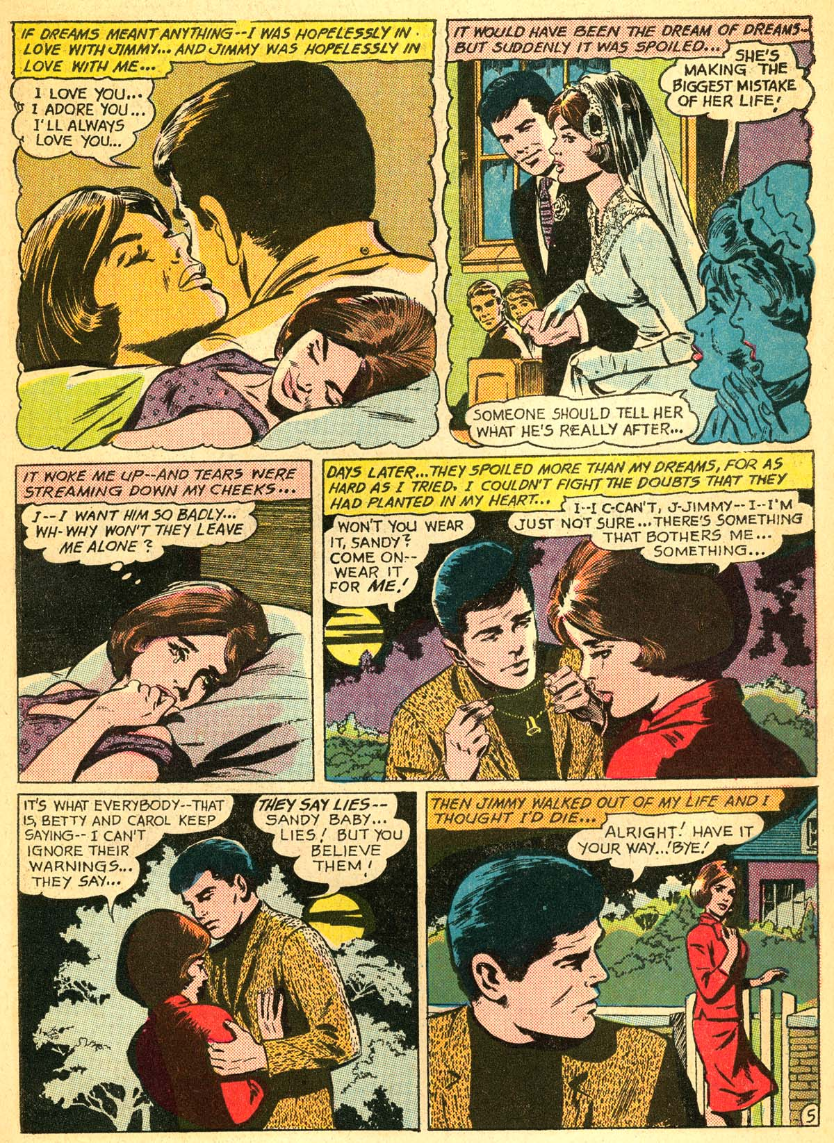 Read online Secret Hearts comic -  Issue #111 - 7
