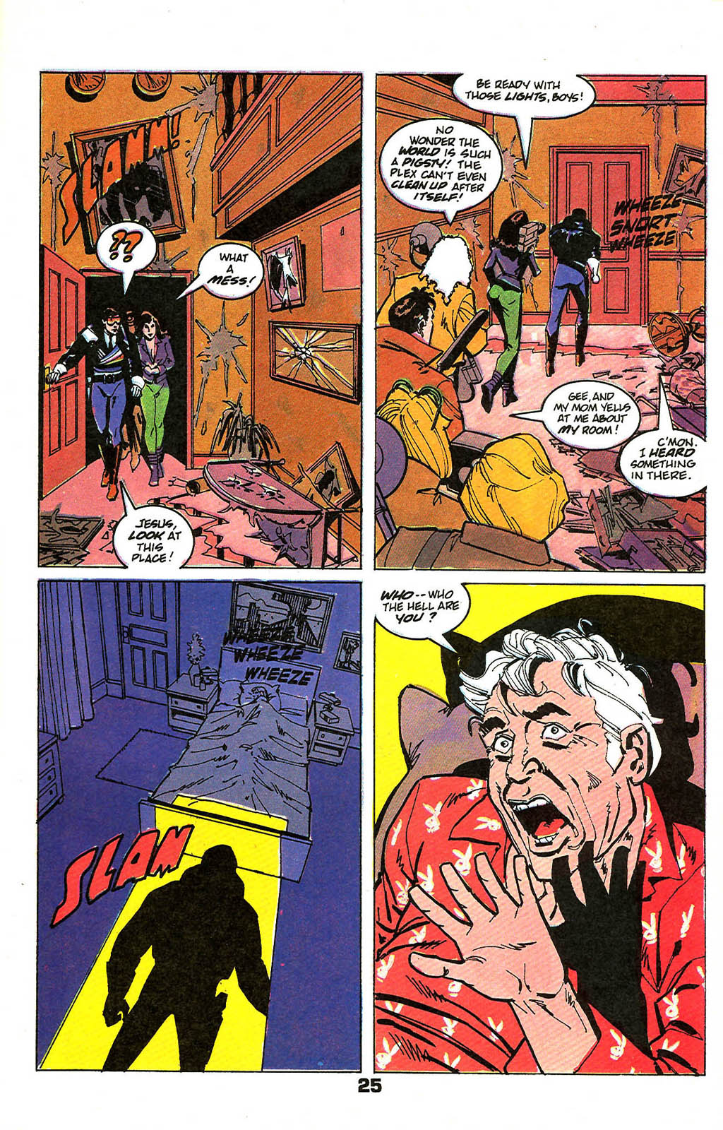 Read online American Flagg! comic -  Issue #49 - 31