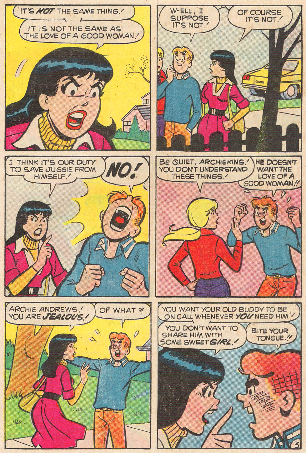Read online Archie's Girls Betty and Veronica comic -  Issue #248 - 5