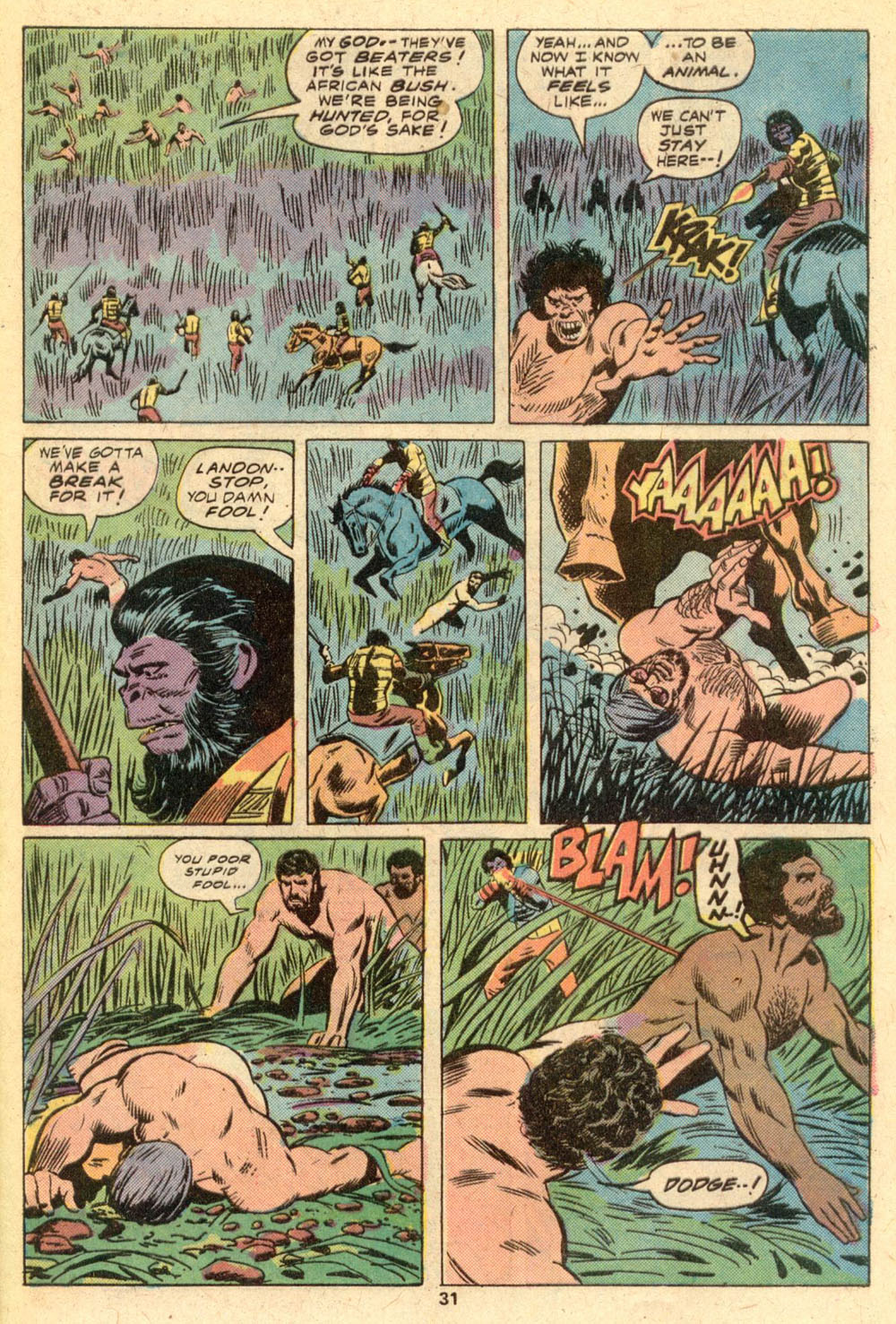 Read online Adventures on the Planet of the Apes comic -  Issue #1 - 20