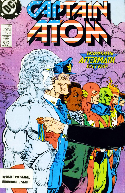 Captain Atom (1987) 25 Page 1