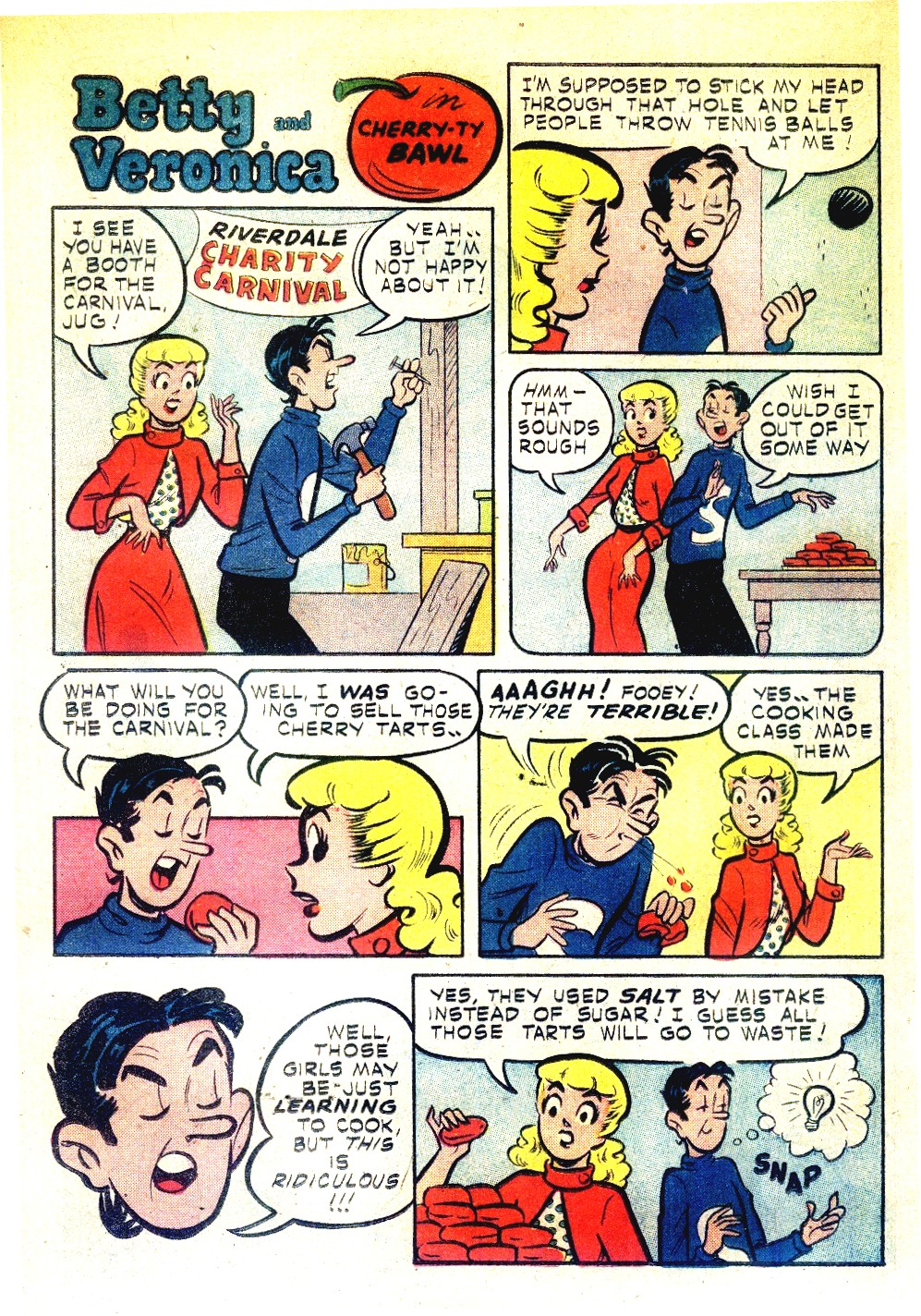 Read online Archie's Girls Betty and Veronica comic -  Issue #27 - 22