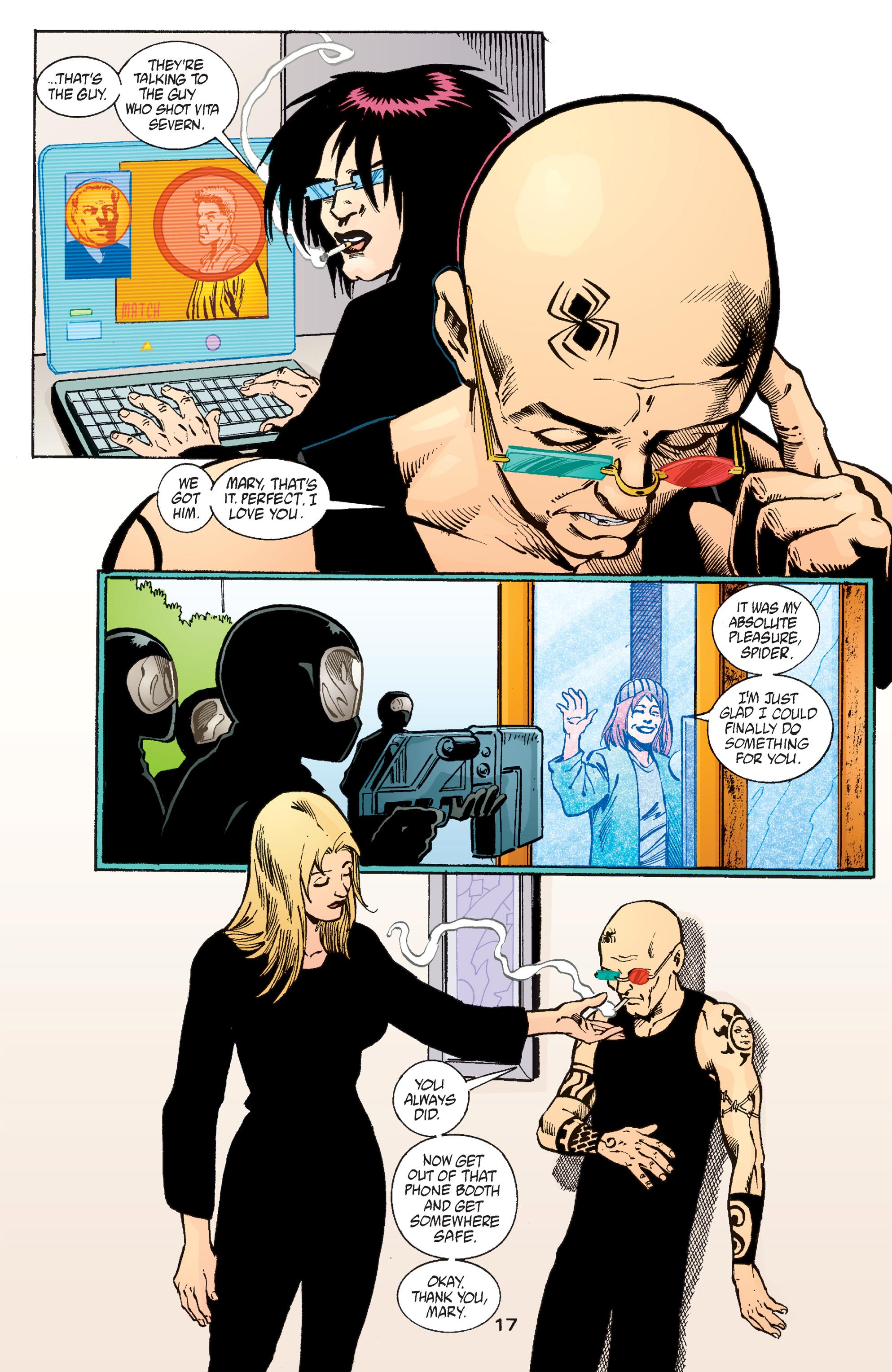 Read online Transmetropolitan comic -  Issue #57 - 18