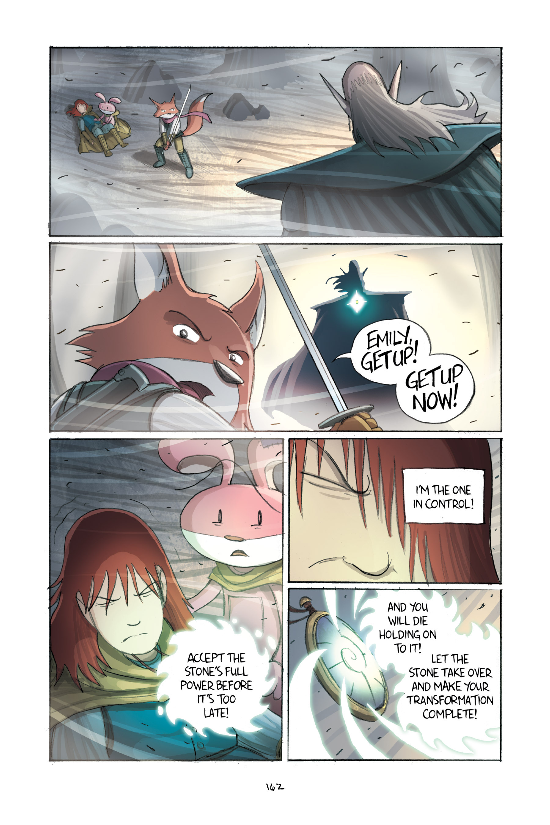 Read online Amulet comic -  Issue #2 - 161