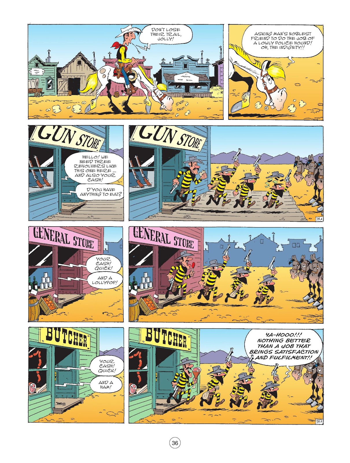 A Lucky Luke Adventure issue 72 - Page 38