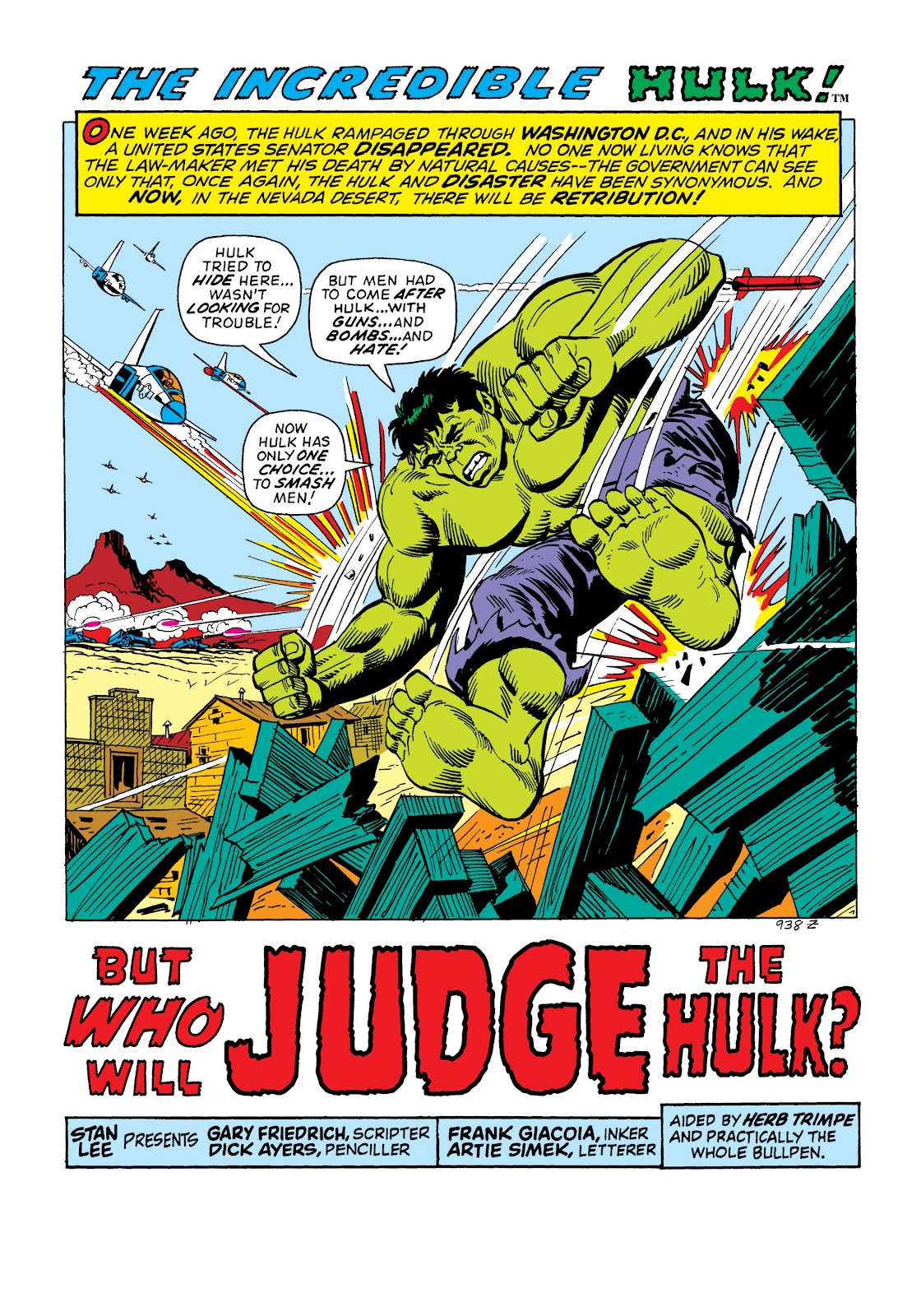 Read online Marvel Masterworks: The Incredible Hulk comic -  Issue # TPB 8 (Part 2) - 75