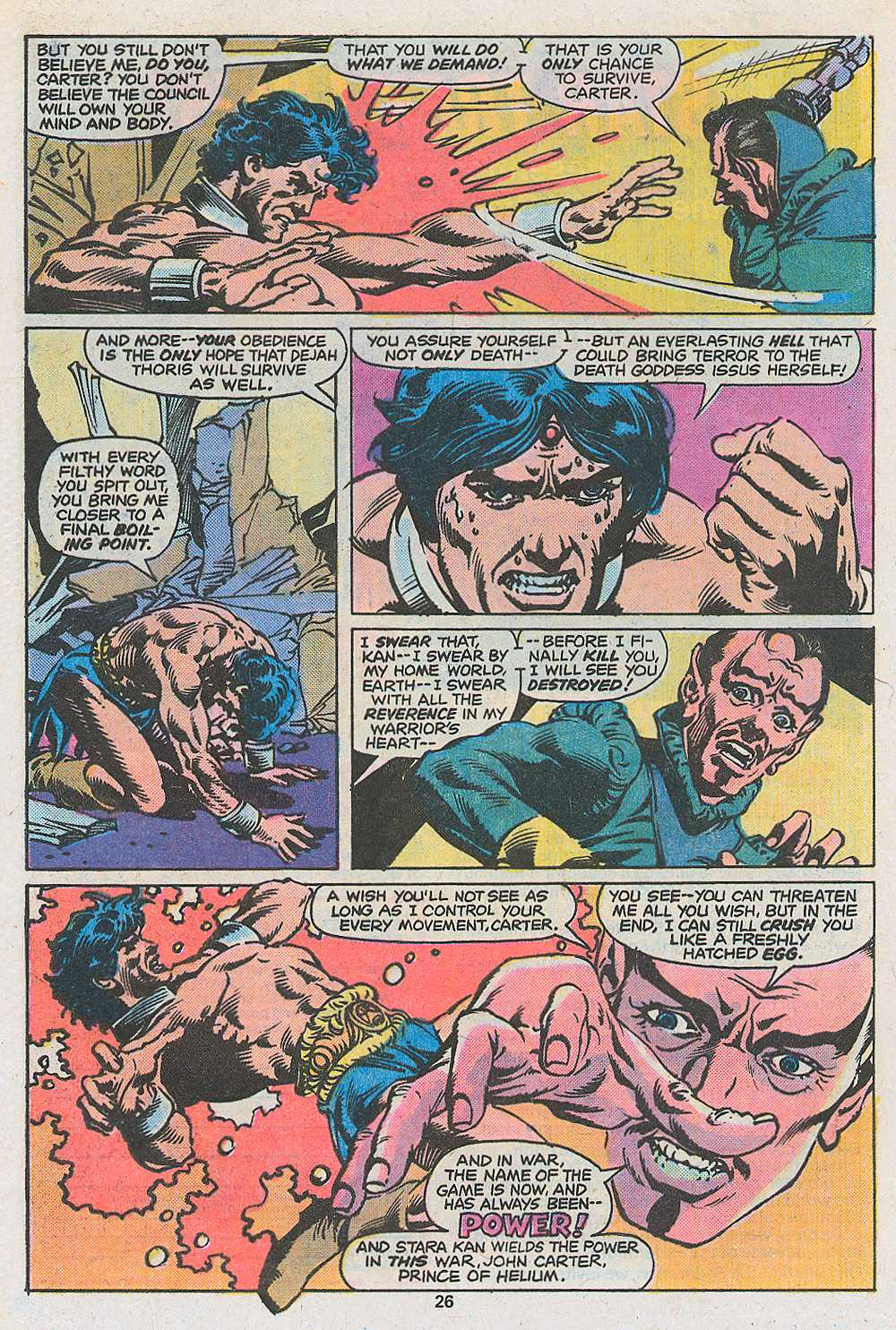 John Carter Warlord of Mars issue 3 - Page 28