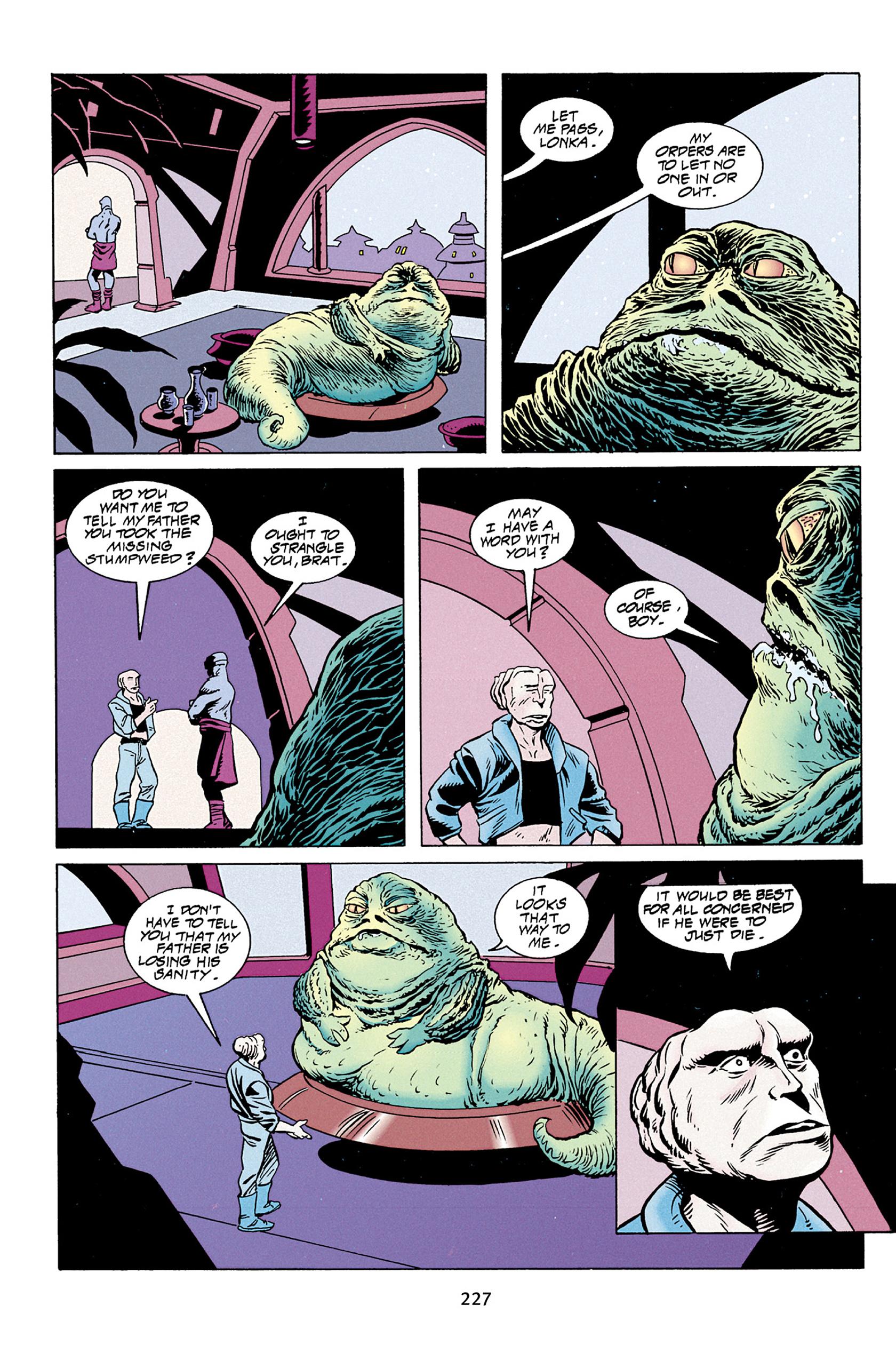 Read online Star Wars Omnibus comic -  Issue # Vol. 30 - 224