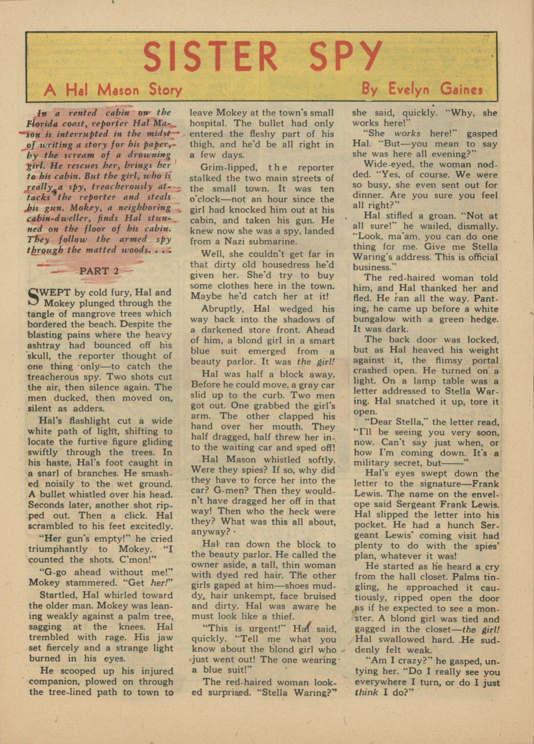 Read online Sensation (Mystery) Comics comic -  Issue #21 - 31