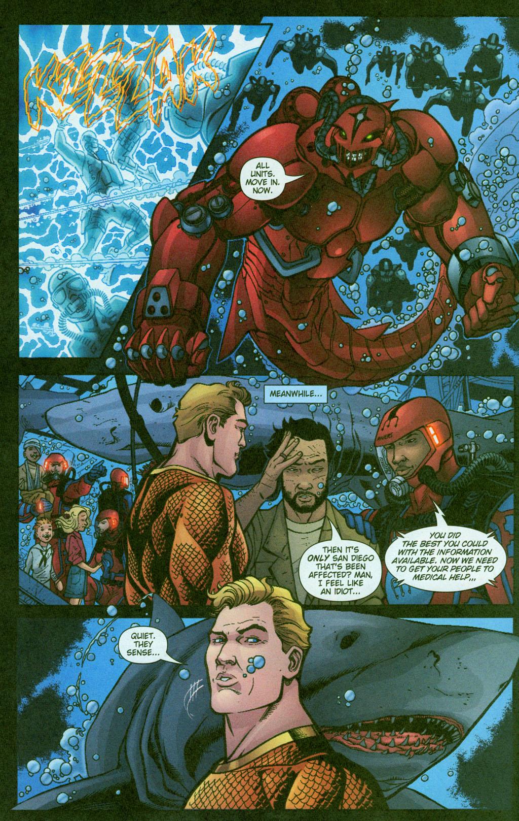 Read online Aquaman (2003) comic -  Issue #23 - 17