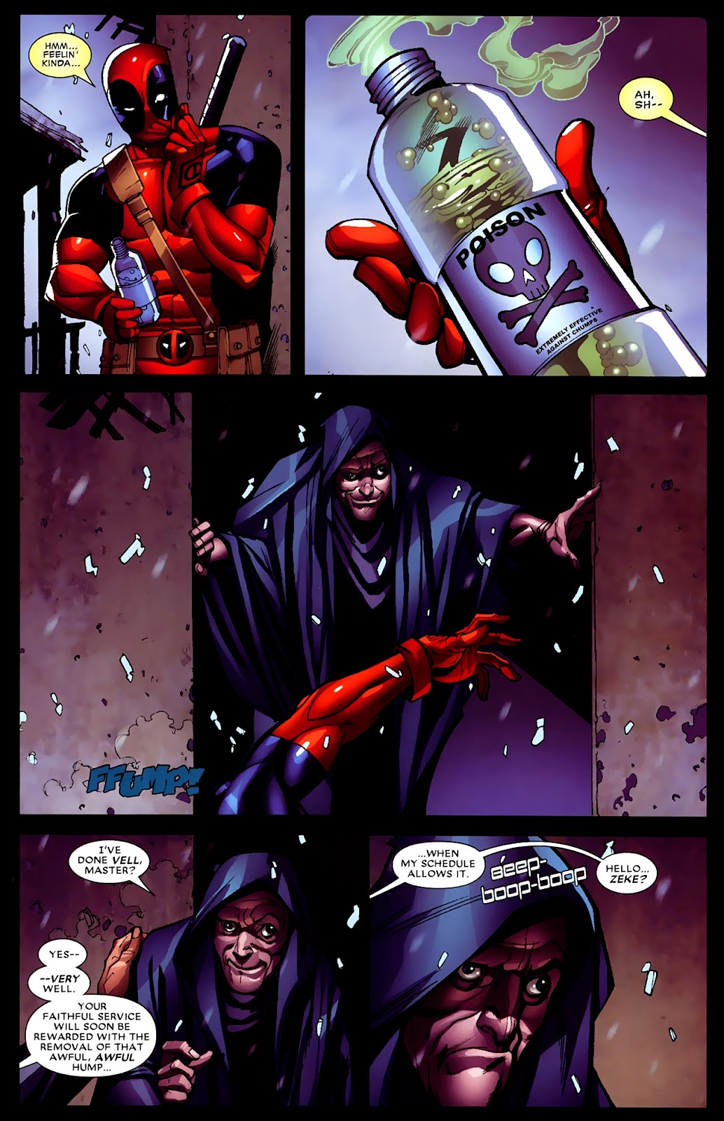 Read online Deadpool (2008) comic -  Issue #4 - 23