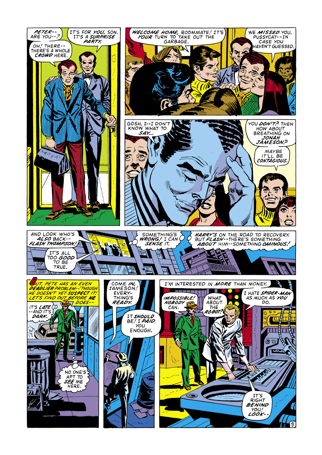 The Amazing Spider-Man (1963) 105 Page 9