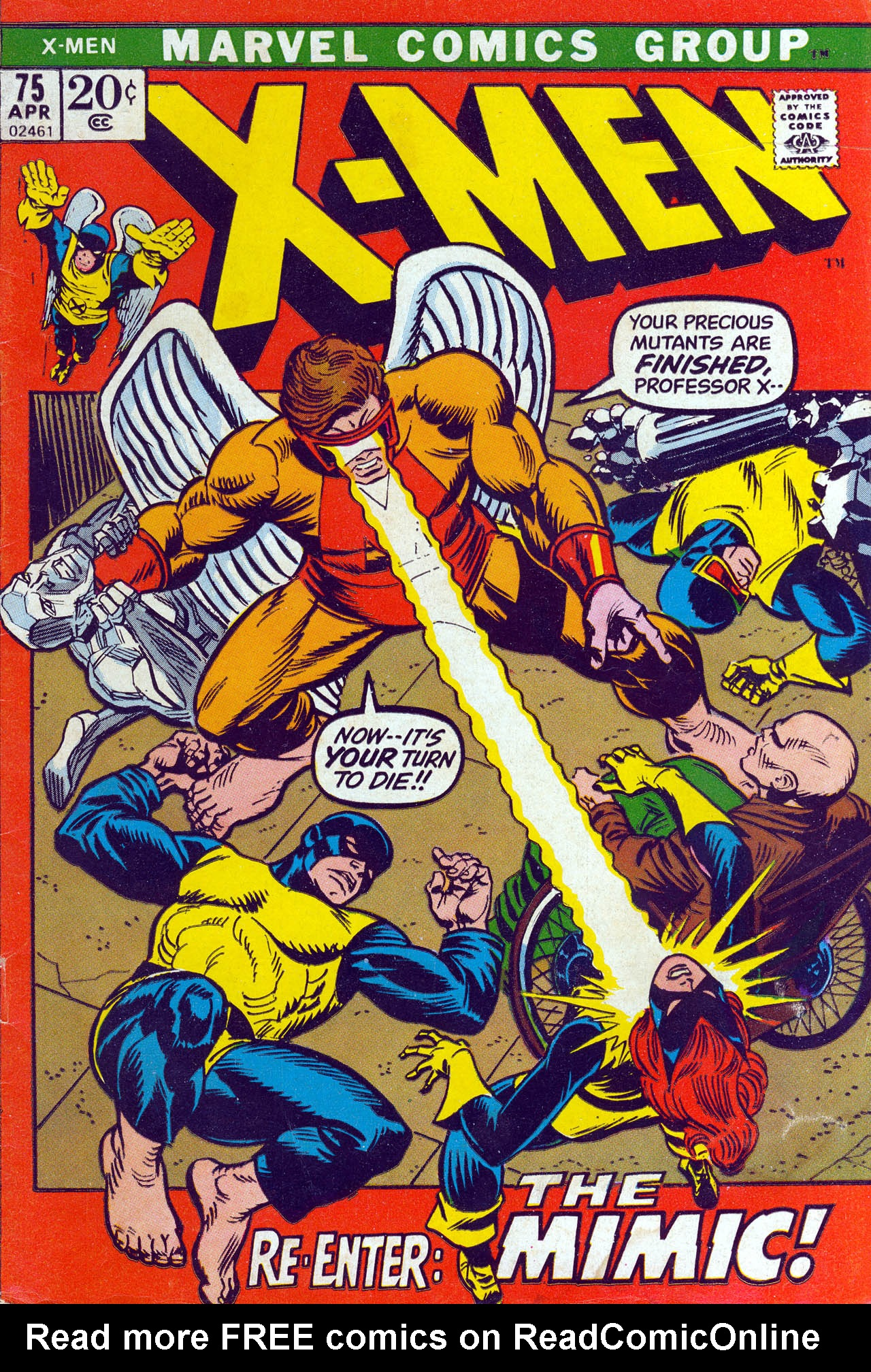 Read online Uncanny X-Men (1963) comic -  Issue #75 - 1