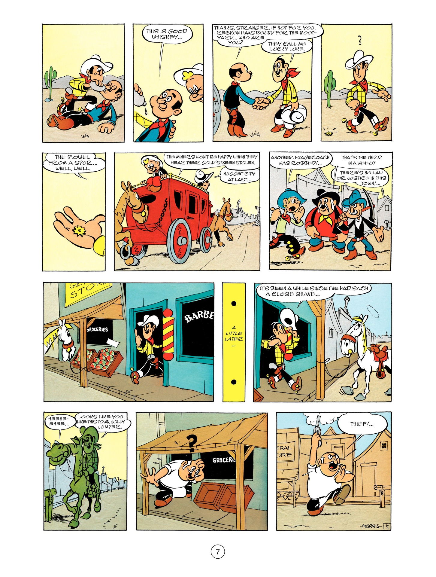 Read online A Lucky Luke Adventure comic -  Issue #55 - 7