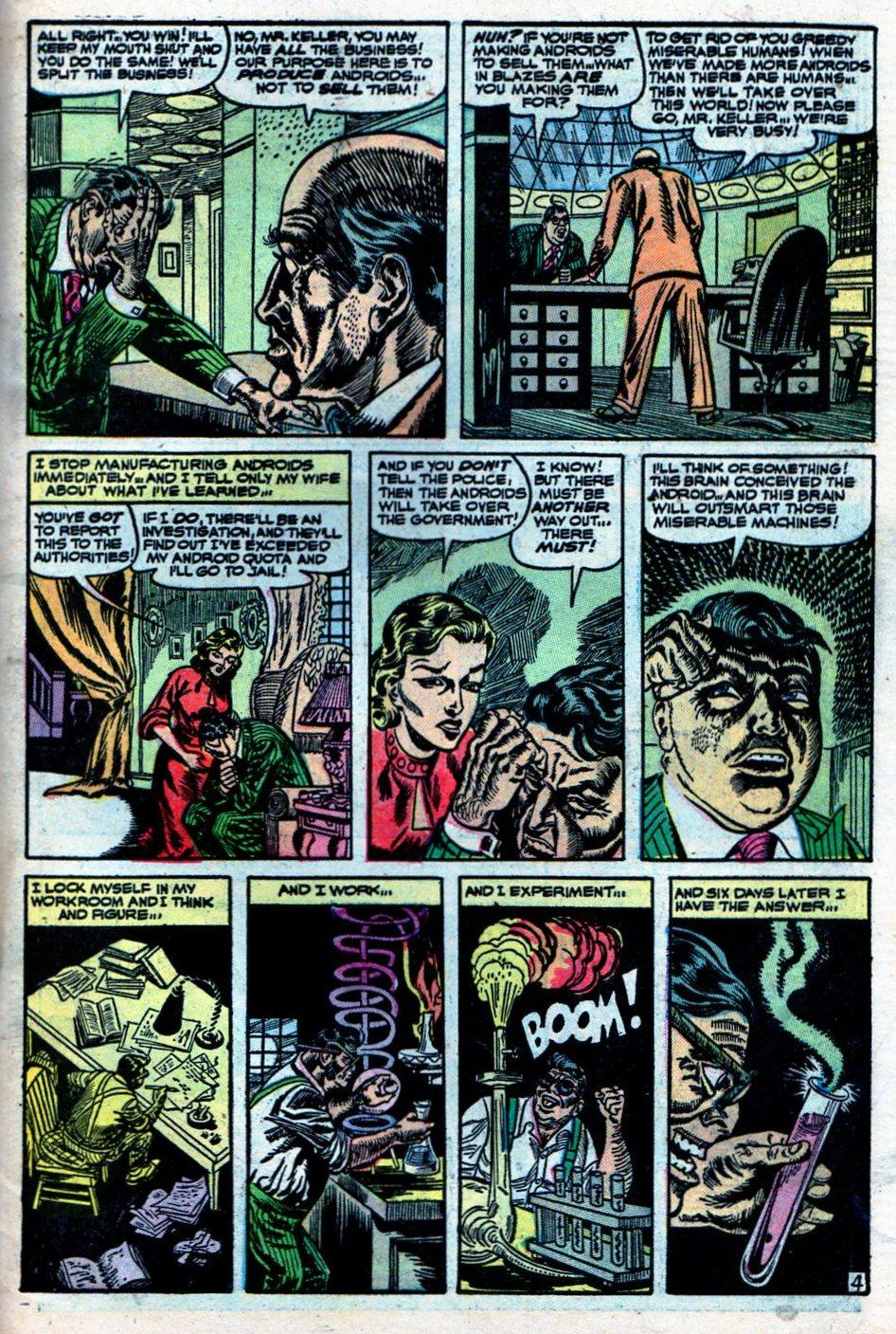 Read online Adventures into Weird Worlds comic -  Issue #27 - 32
