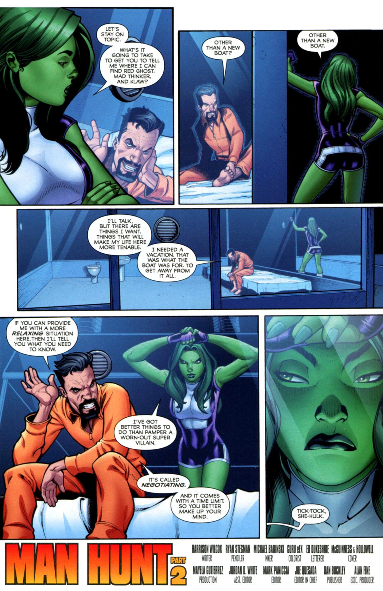 Read online She-Hulks comic -  Issue #2 - 4
