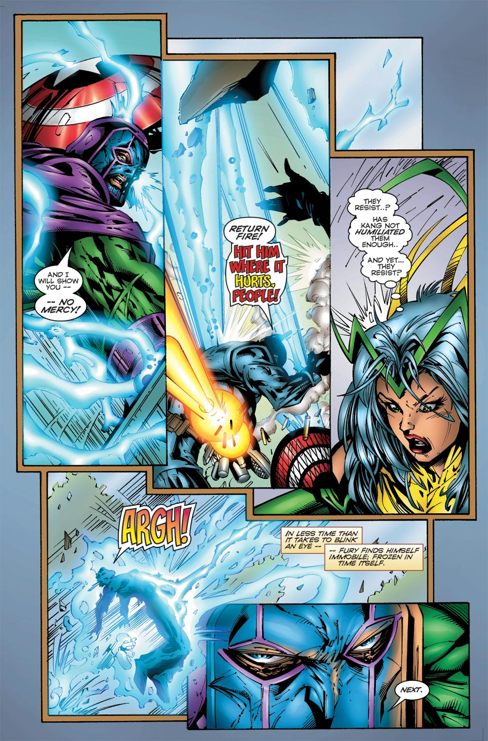 Read online Avengers (1996) comic -  Issue #3 - 5