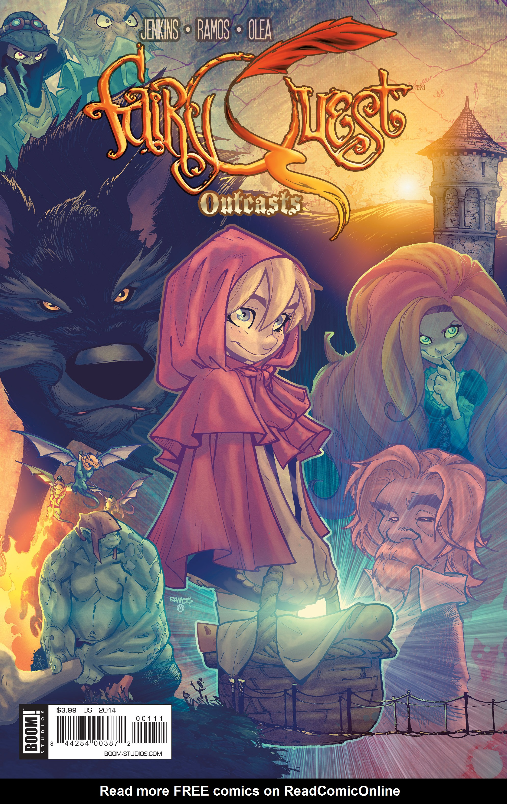 Read online Fairy Quest: Outcasts comic -  Issue #1 - 1