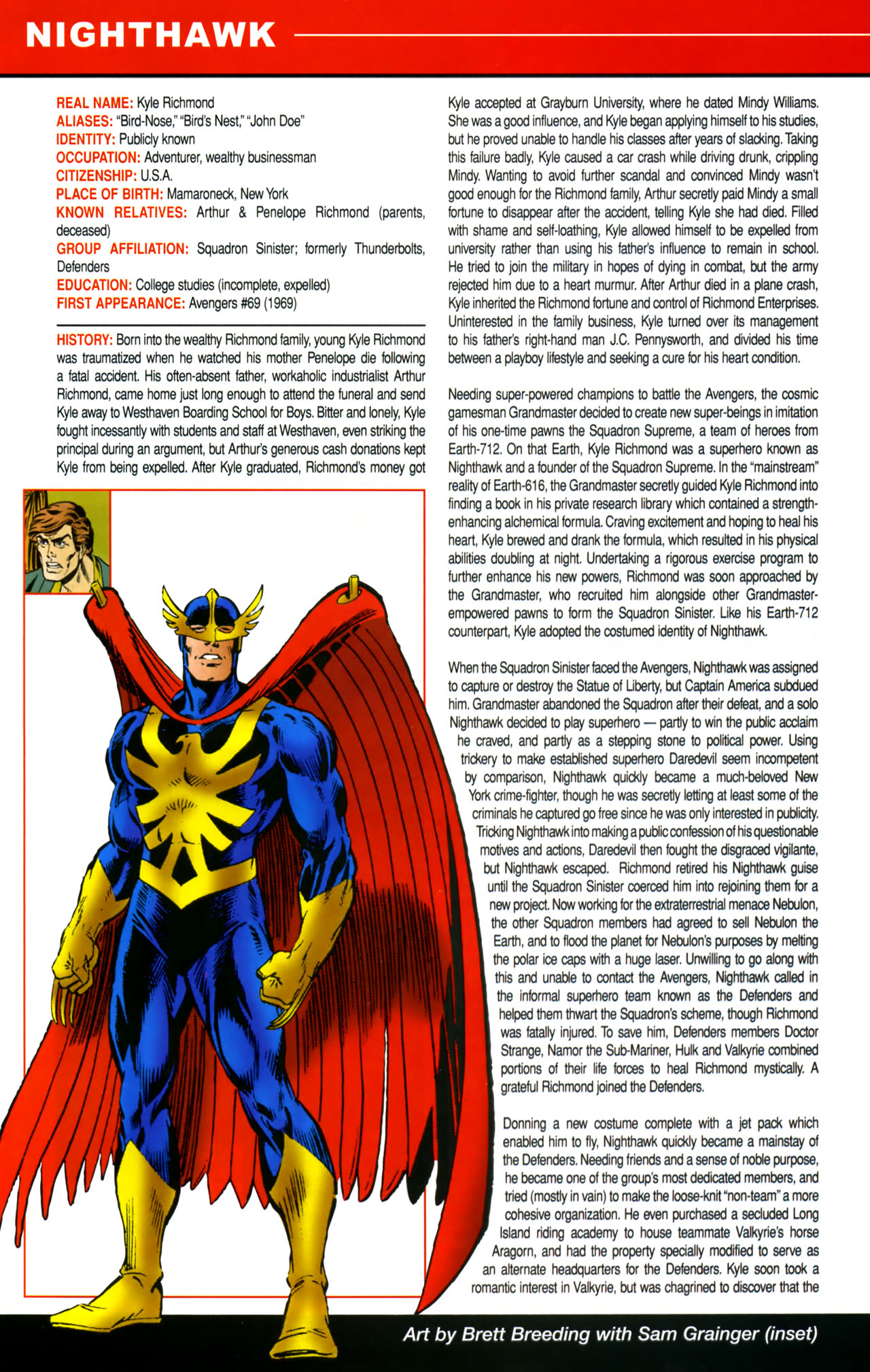 Read online All-New Official Handbook of the Marvel Universe A to Z comic -  Issue #8 - 16