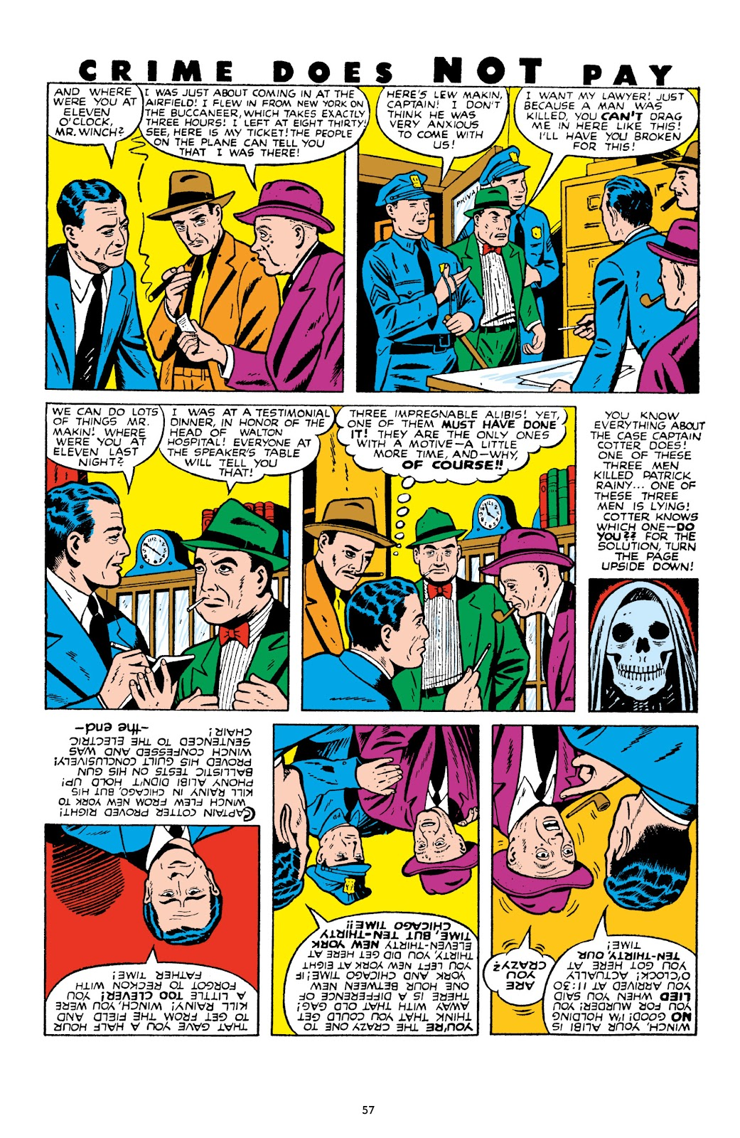 Read online Crime Does Not Pay Archives comic -  Issue # TPB 10 (Part 1) - 59