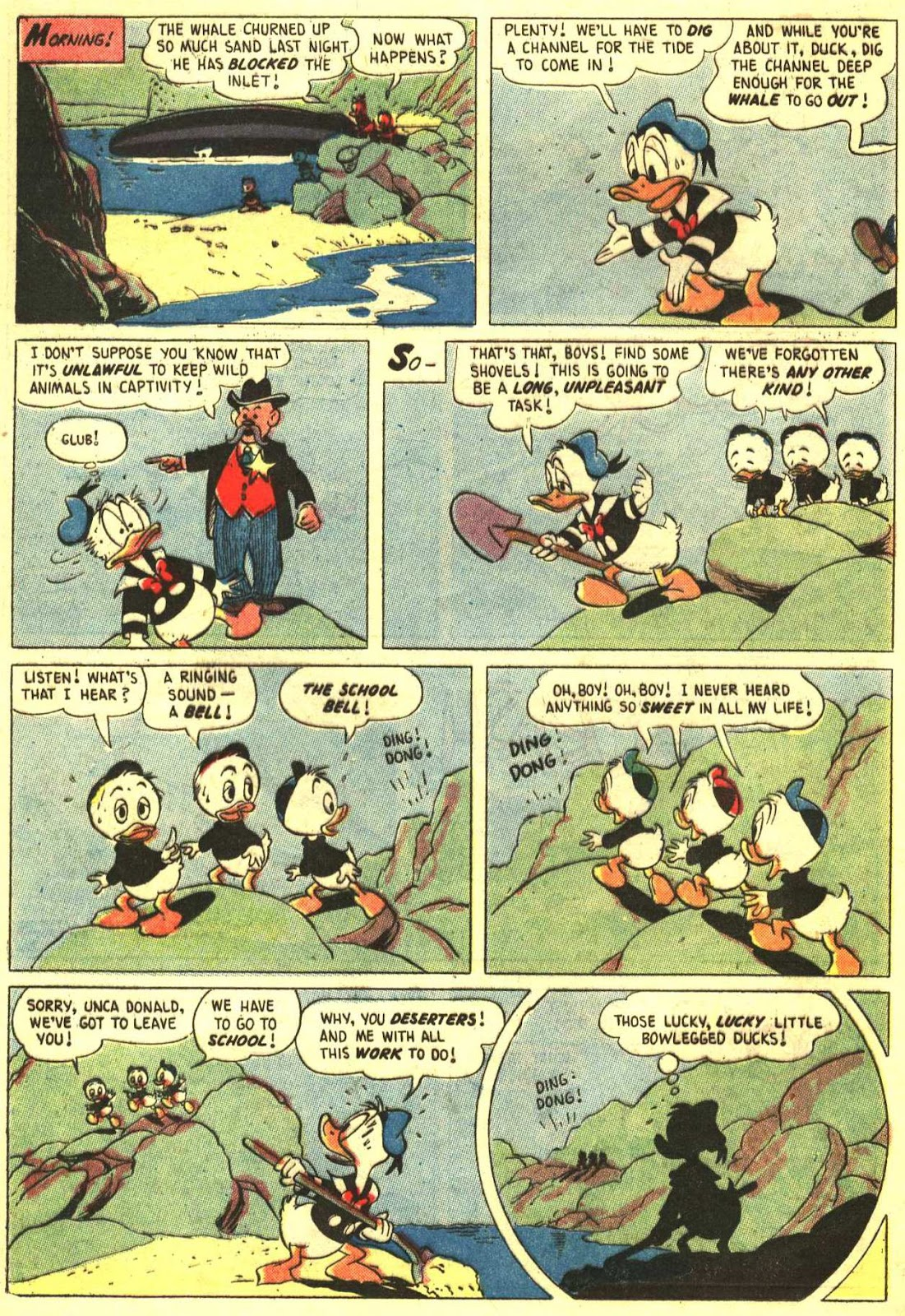 Walt Disney's Comics and Stories issue 193 - Page 12