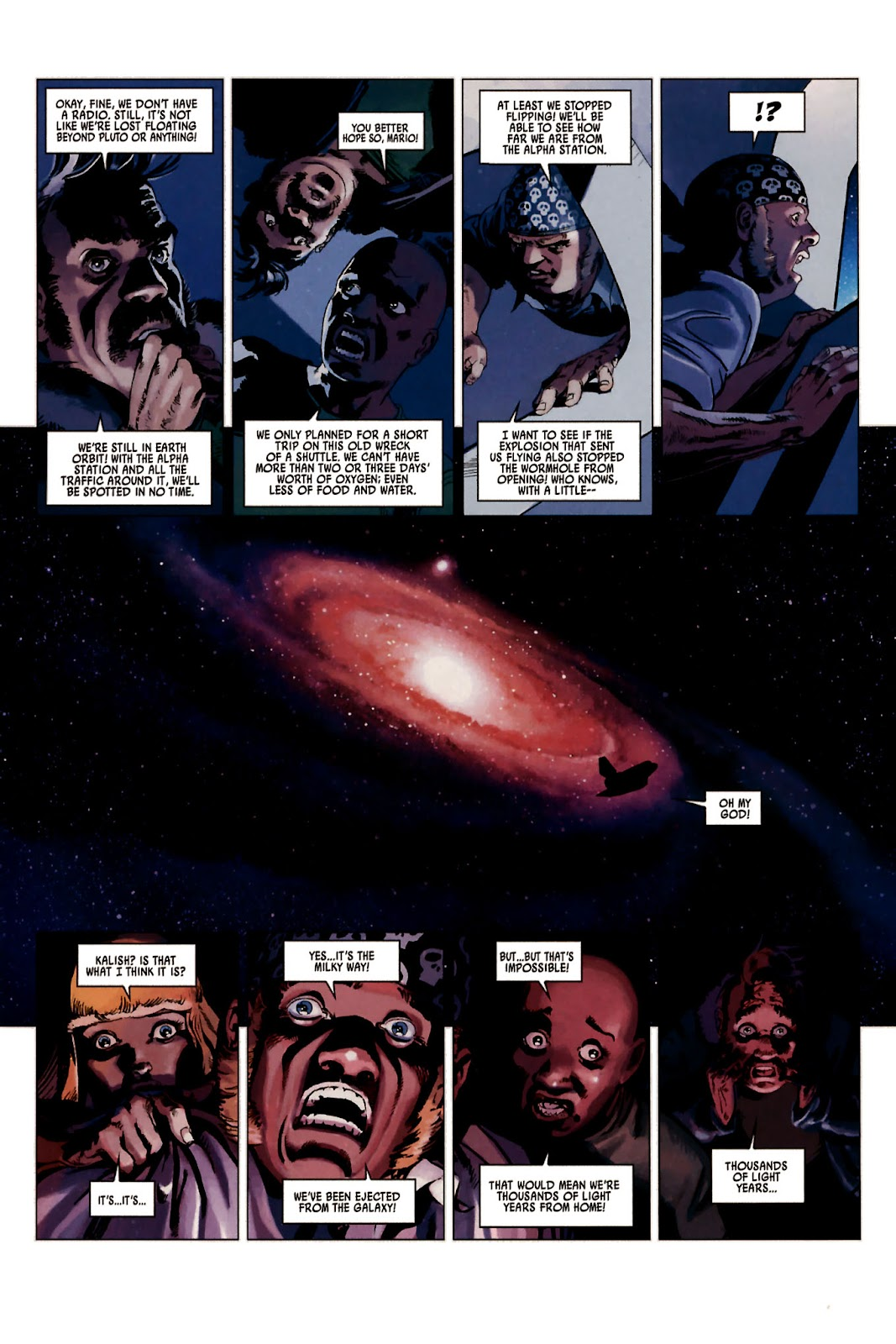 Read online Universal War One: Revelations comic -  Issue #2 - 9