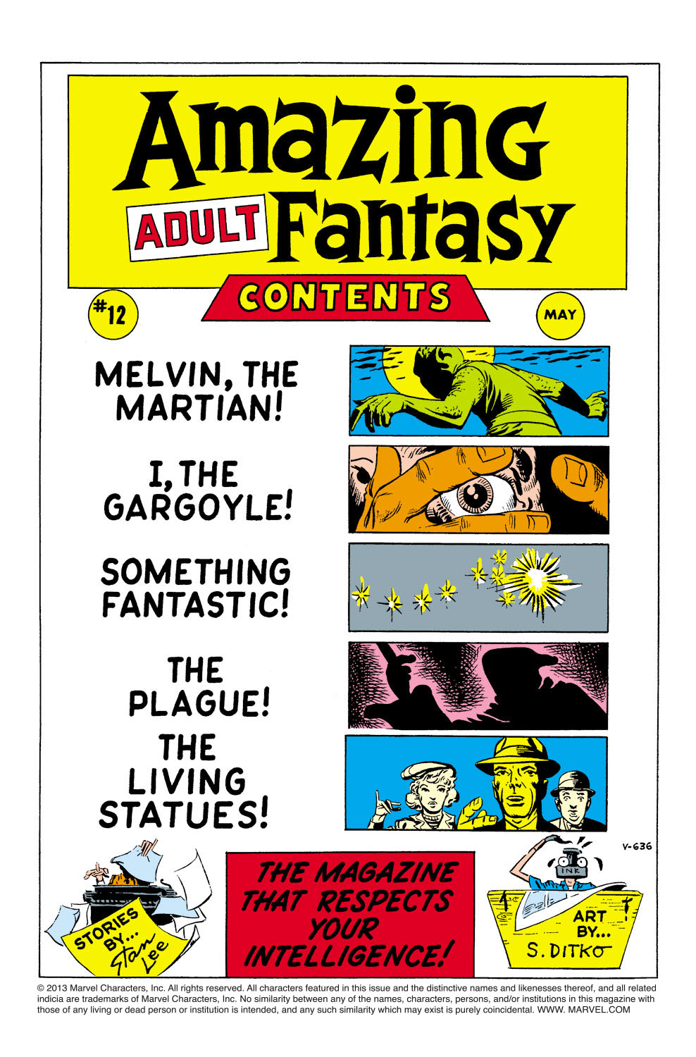 Read online Amazing Adult Fantasy comic -  Issue #12 - 2