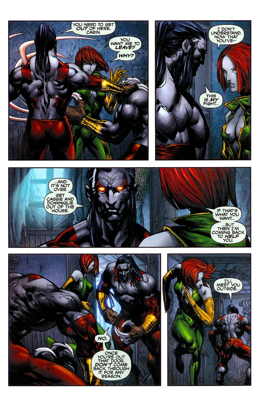 Cyberforce (2006) Issue #2 #3 - English 10