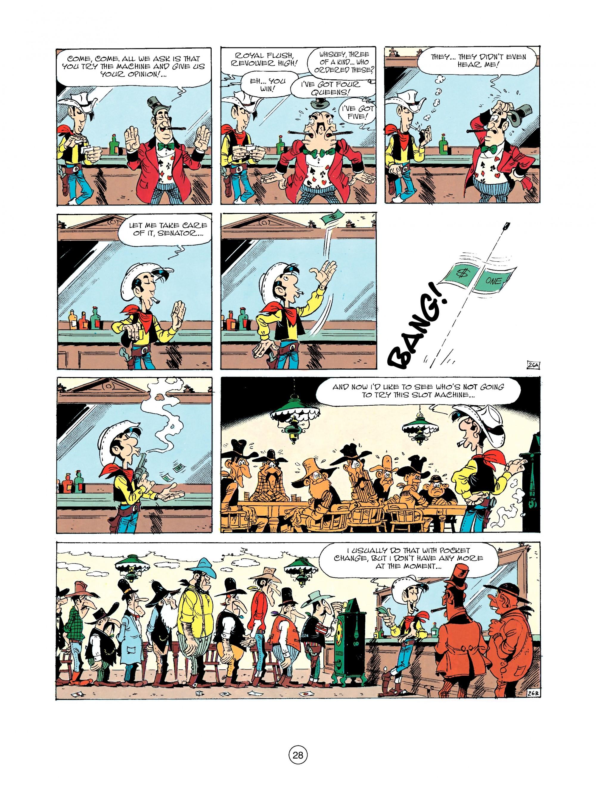 Read online A Lucky Luke Adventure comic -  Issue #33 - 28
