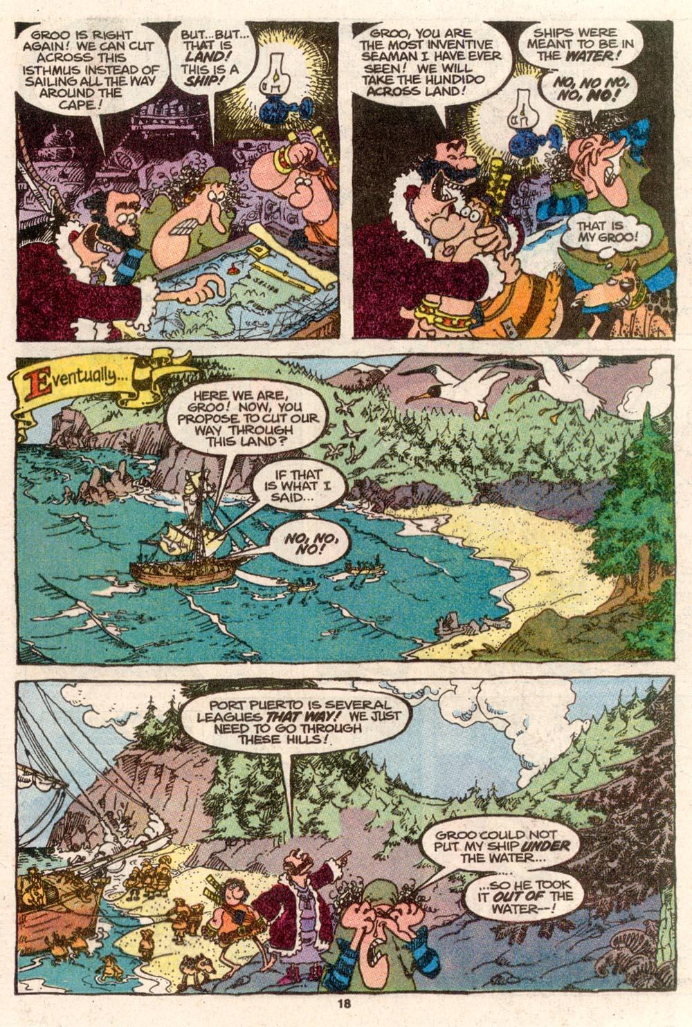 Read online Sergio Aragonés Groo the Wanderer comic -  Issue #69 - 14