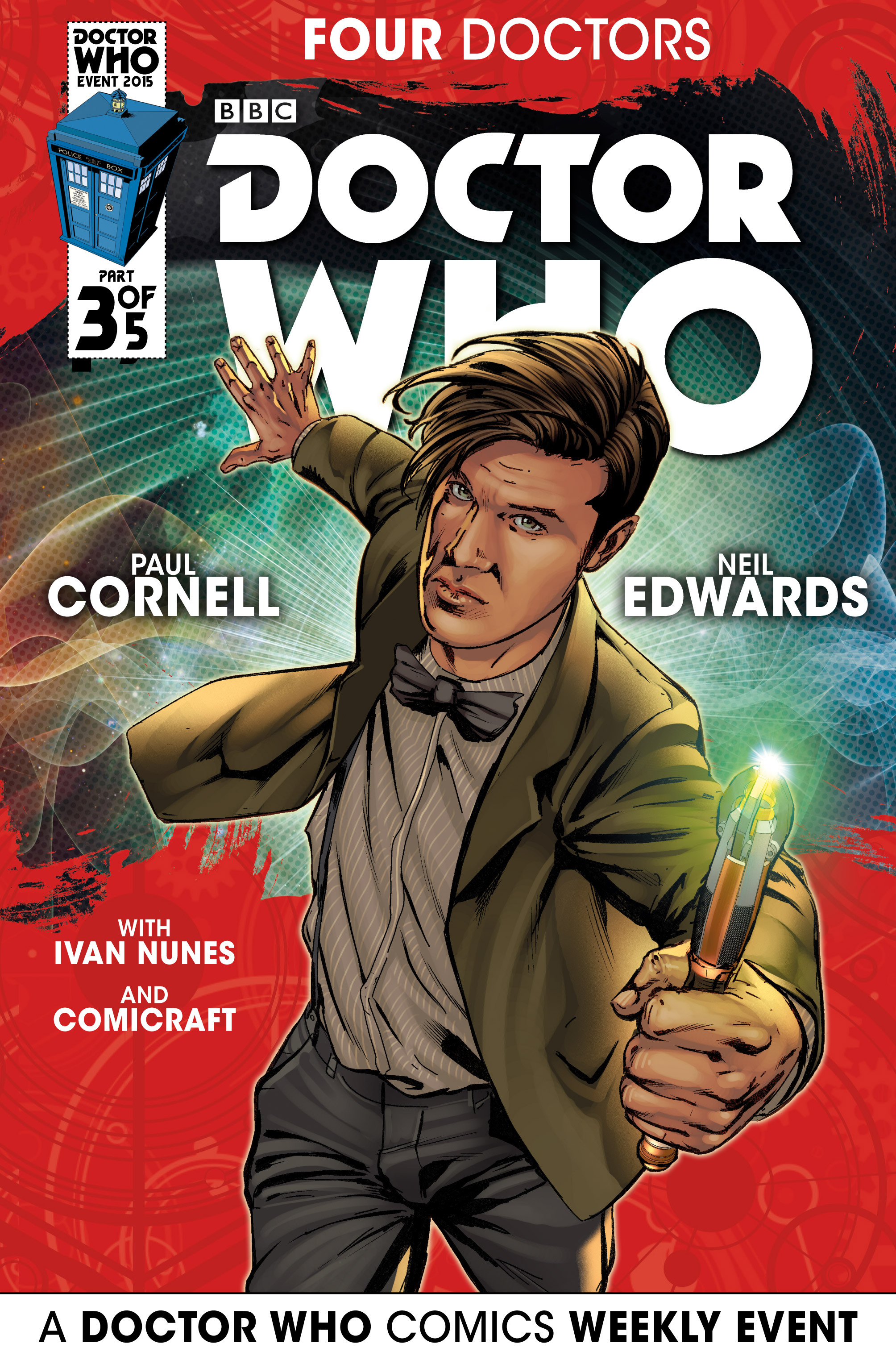Doctor Who Event 2015: Four Doctors 3 Page 1