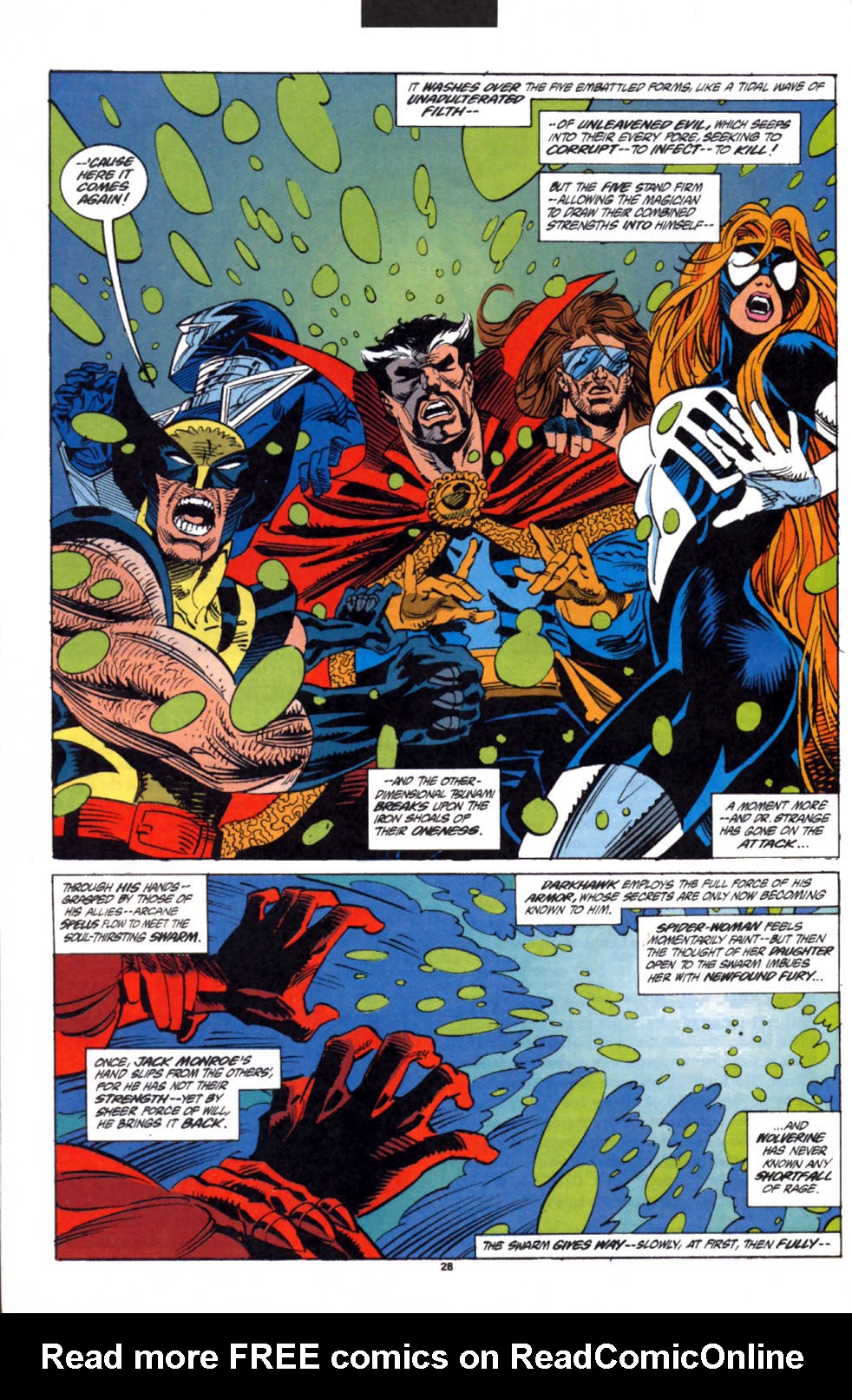 Read online Secret Defenders comic -  Issue #3 - 21