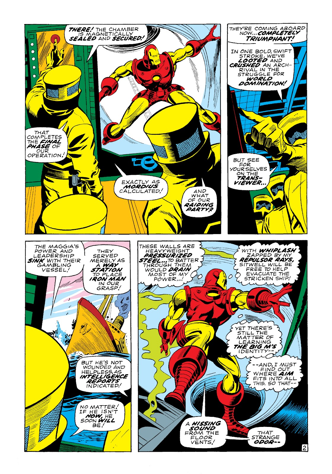 Read online Marvel Masterworks: The Invincible Iron Man comic -  Issue # TPB 4 (Part 3) - 26