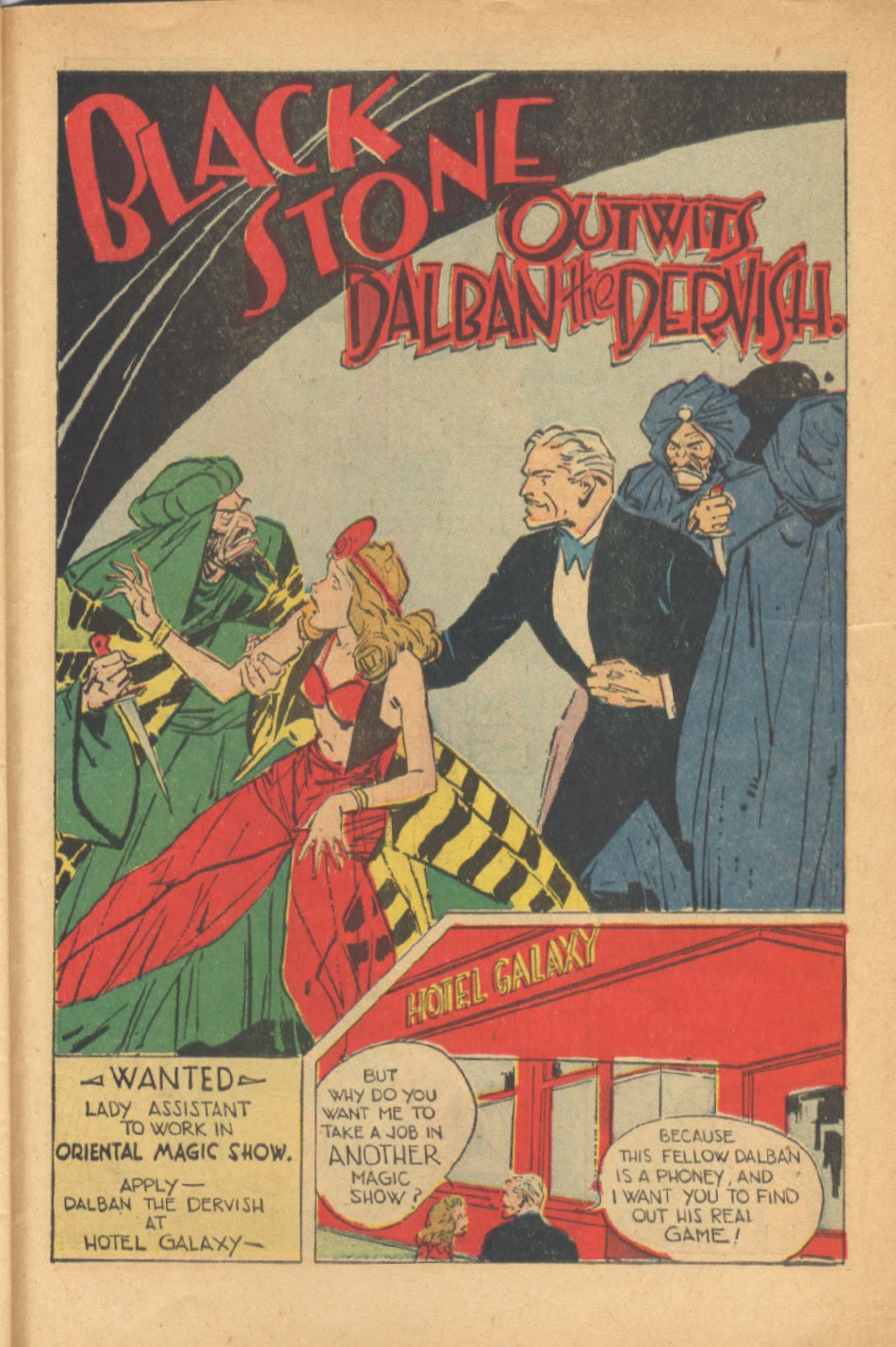 Read online Super-Magician Comics comic -  Issue #41 - 43