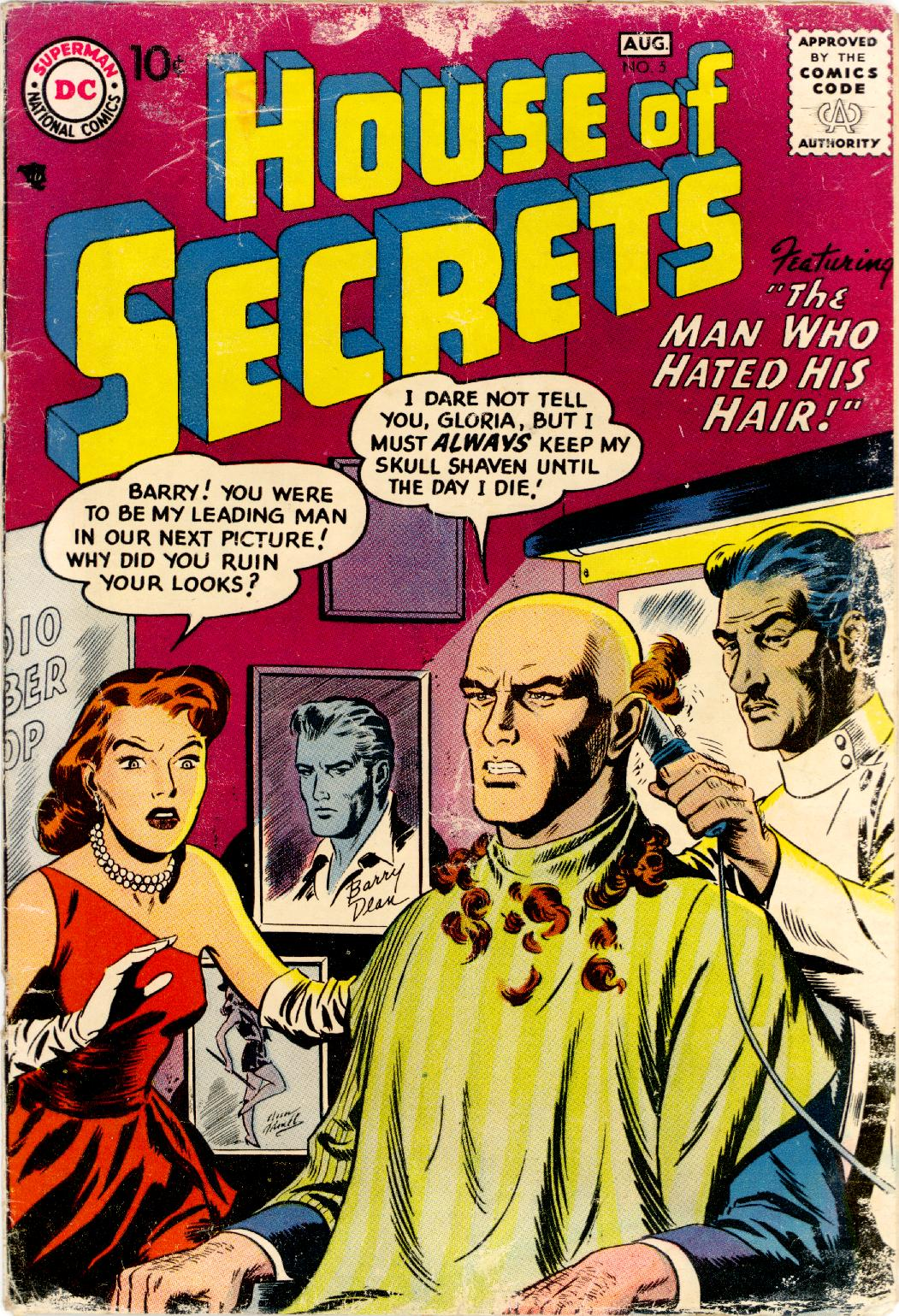 House of Secrets (1956) issue 5 - Page 1