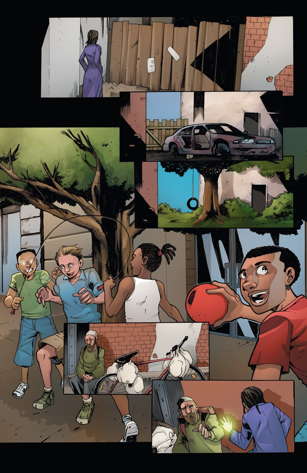 Read online Incidentals comic -  Issue #15 - 9